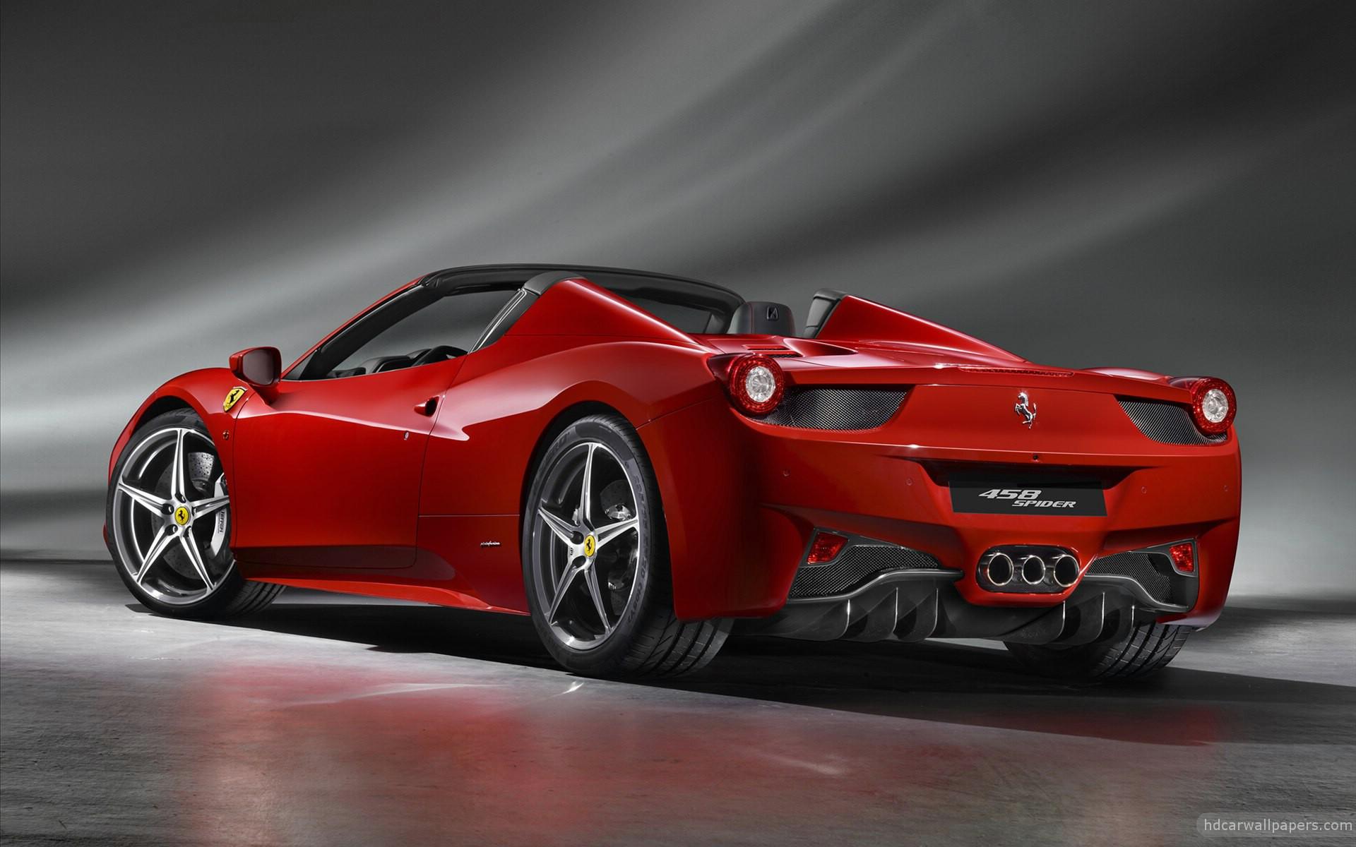 2012 Ferrari 458 Spider 2 Wallpaper Hd Car Wallpapers