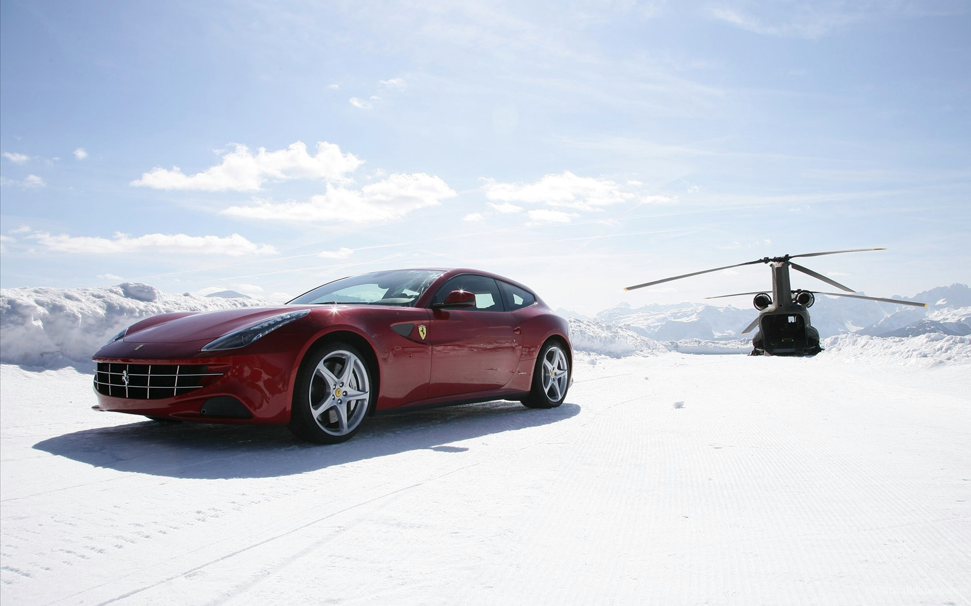2012 Ferrari Ff Wallpaper Hd Car Wallpapers Id 2077