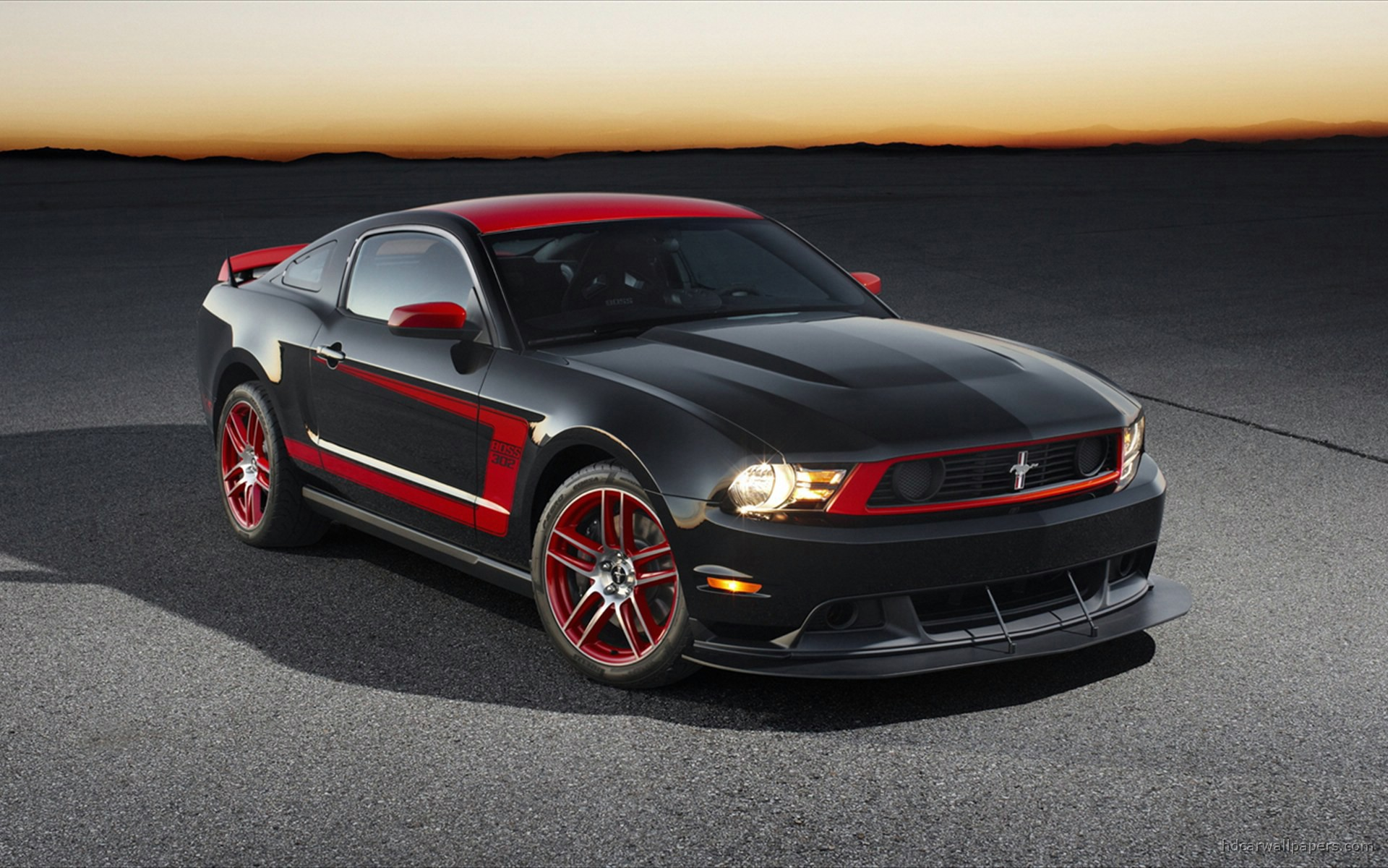 2012 Ford Mustang Boss Wallpaper Hd Car Wallpapers Id