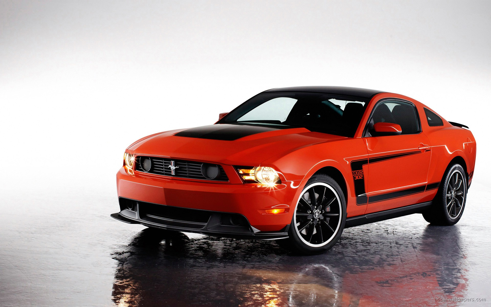 2012 ford mustang boss 3 wallpaper hd car wallpapers id 1870. Black Bedroom Furniture Sets. Home Design Ideas