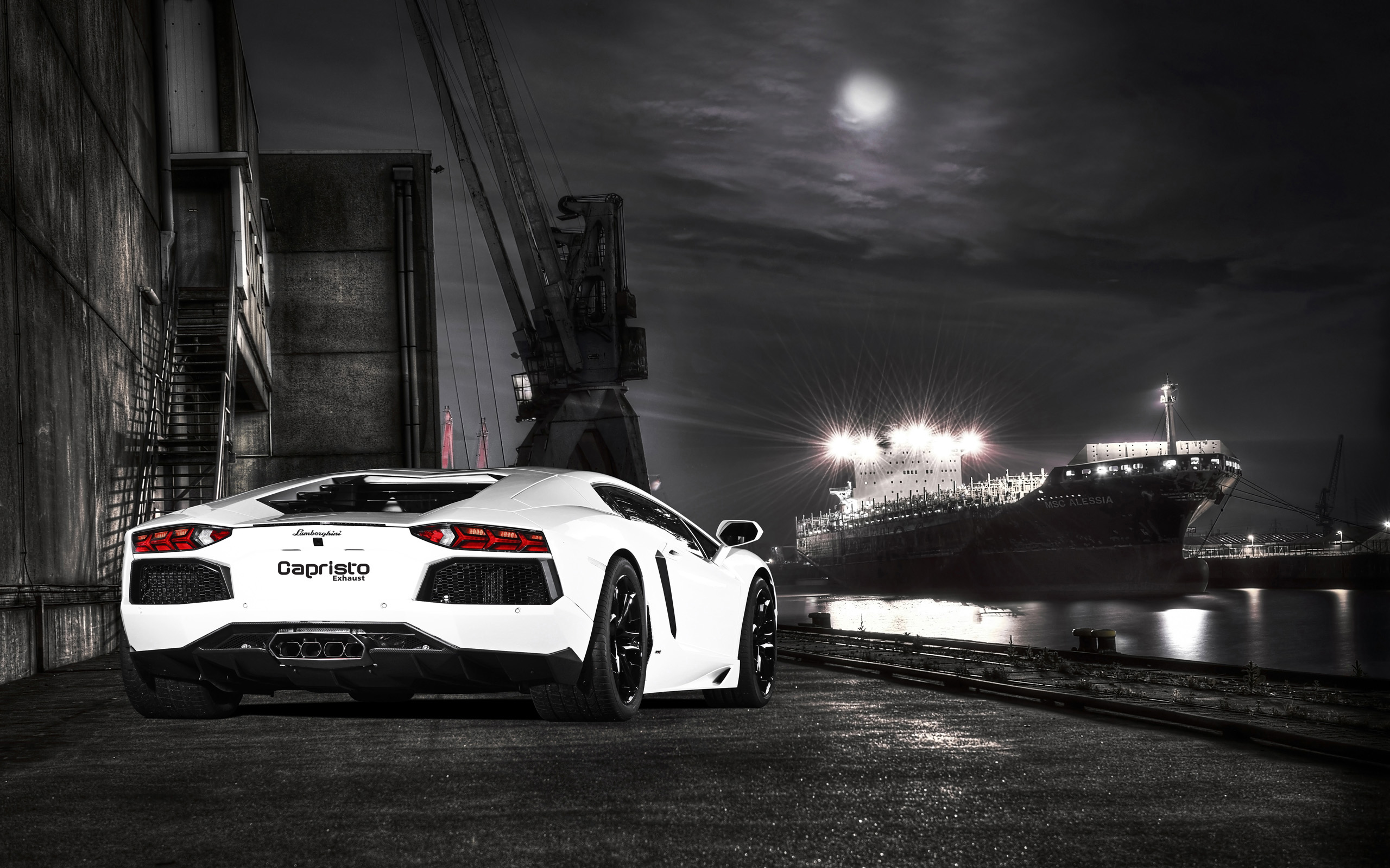 2012 Lamborghini Aventador By Capristo 2 Wallpaper | HD ...