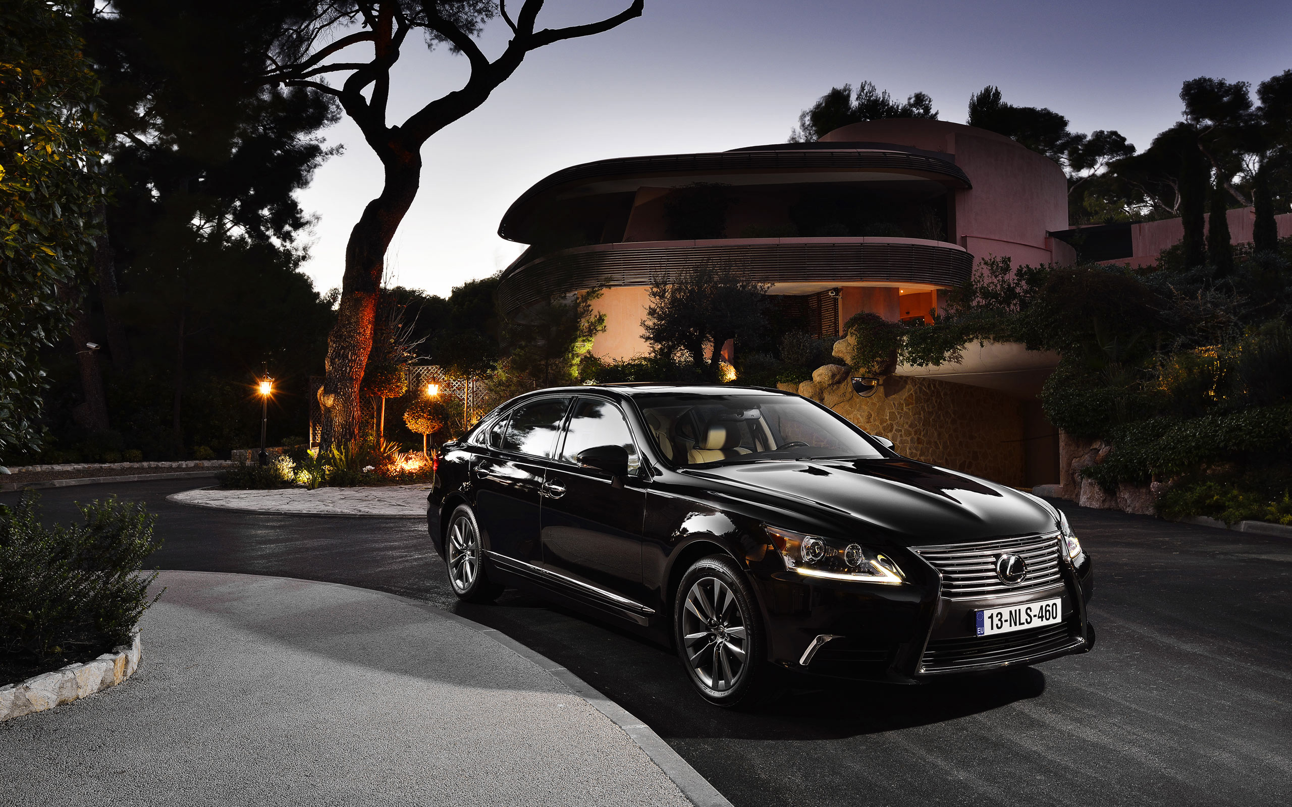 2012 Lexus Ls Eu 2 Wallpaper Hd Car Wallpapers