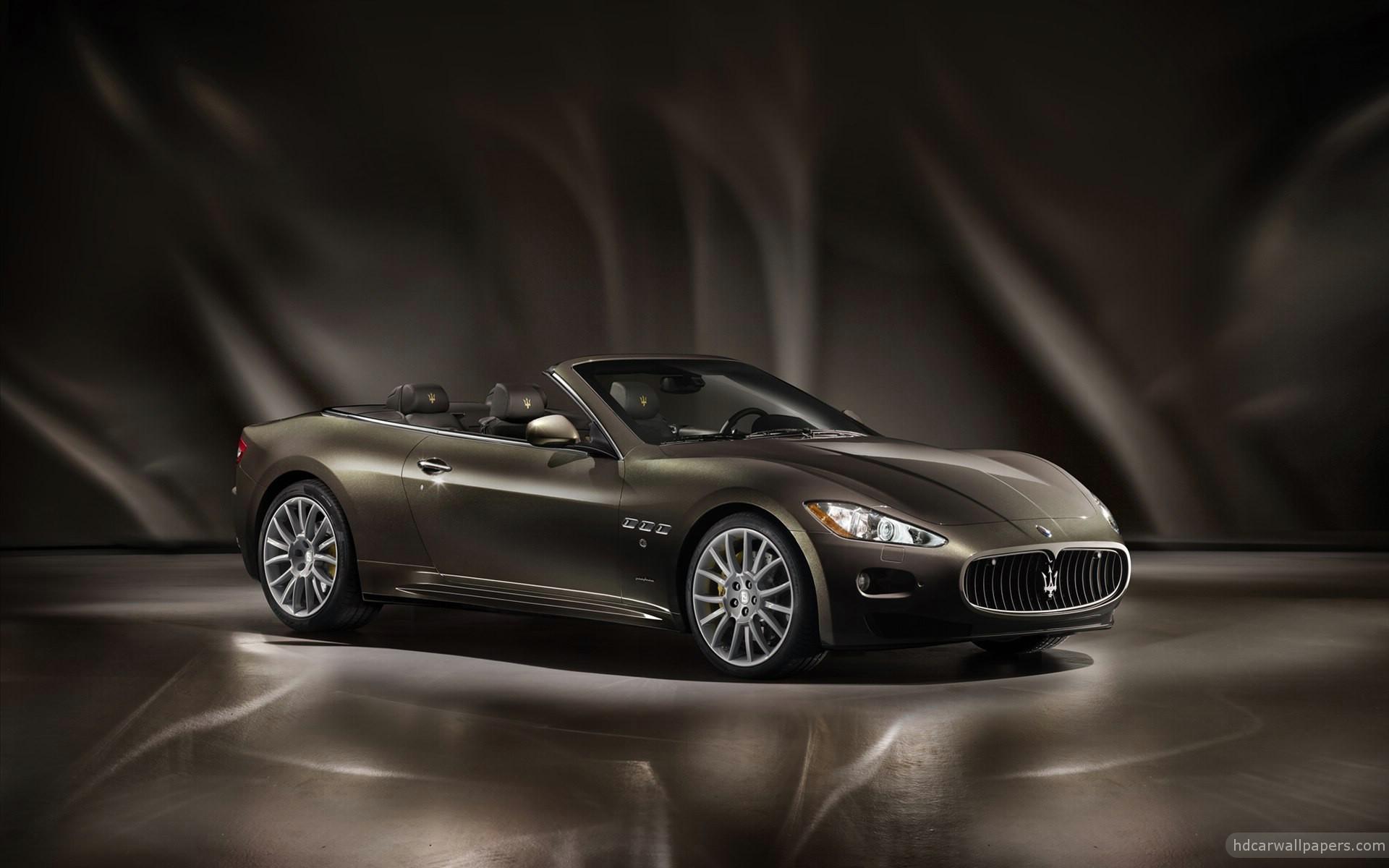 2012 Maserati GranCabrio Fendi Wallpaper HD Car