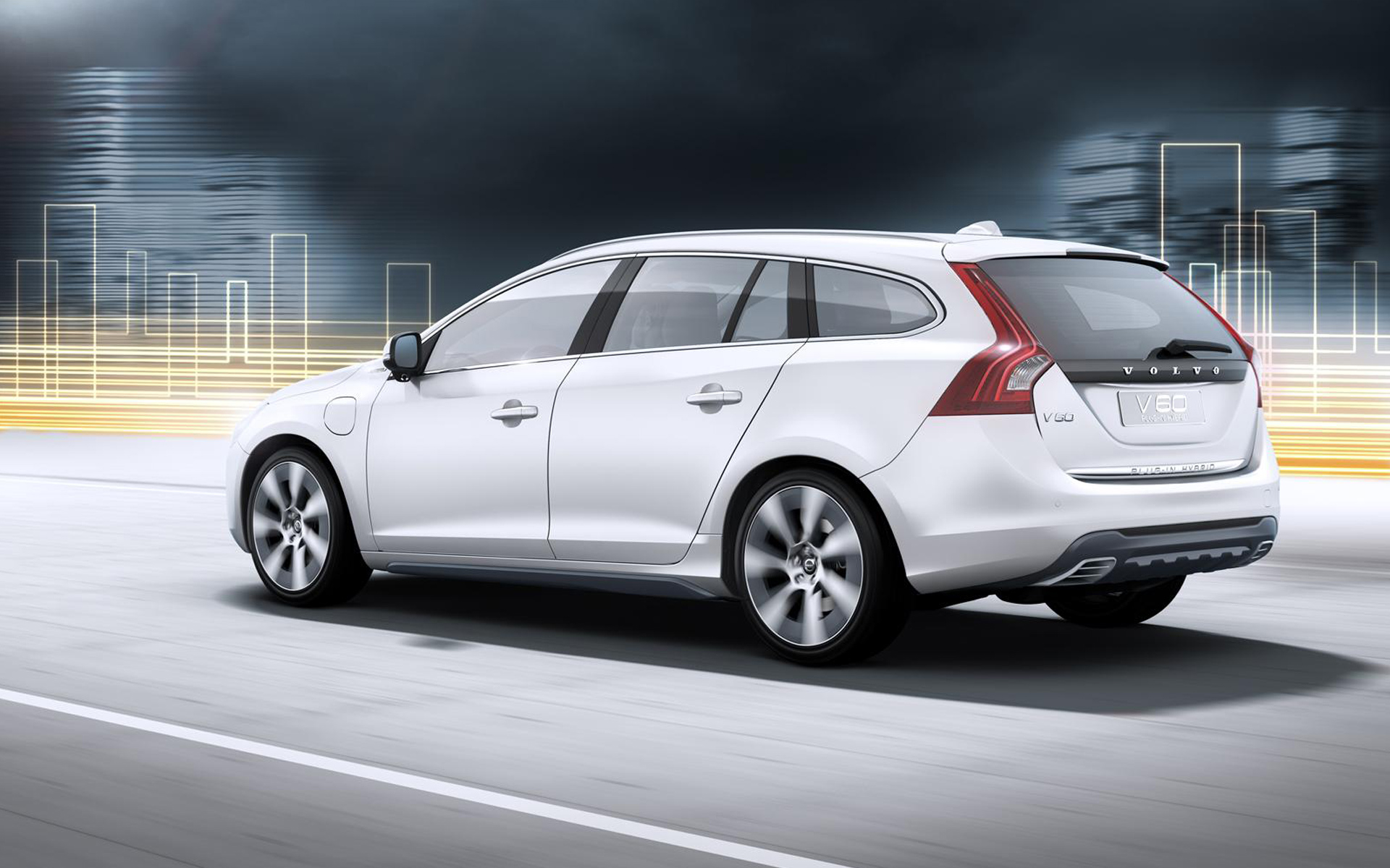 2012 volvo v60 hybrid 2 wallpaper hd car wallpapers id 2298. Black Bedroom Furniture Sets. Home Design Ideas