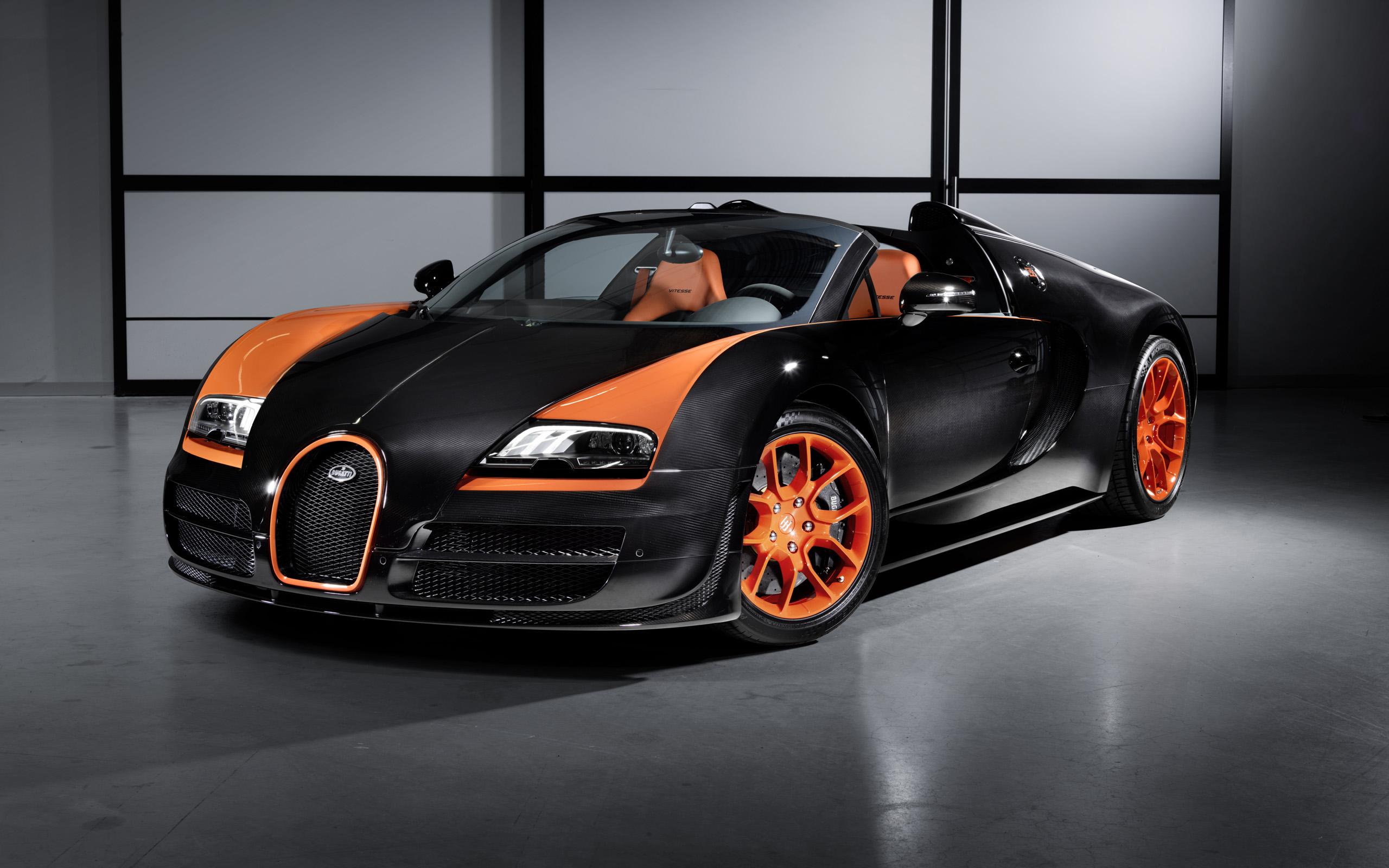 2013 Bugatti Veyron 16 4 Grand Sport Vitesse World Speed Record Wallpaper Hd Car Wallpapers Id 3617