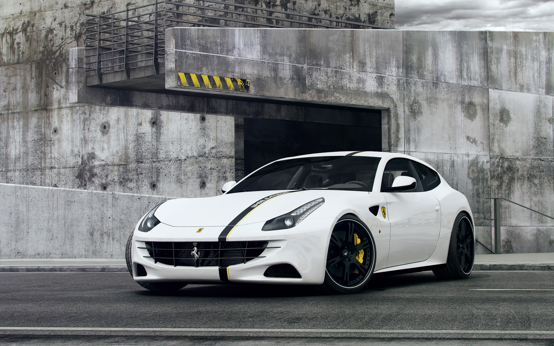 ferrari 2014 white wallpaper. 2013 ferrari ff by wheelsandmore 2014 white wallpaper h