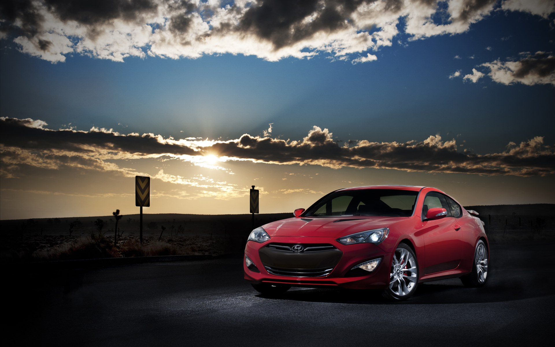 2013 Hyundai Genesis Coupe 2 Wallpaper Hd Car Wallpapers Id 2426