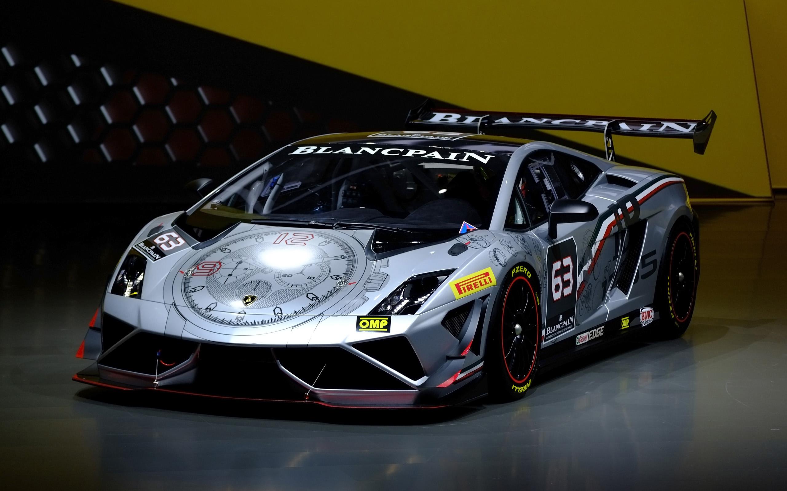 2013 Lamborghini Blancpain Super Trofeo IAA Frankfurt ...