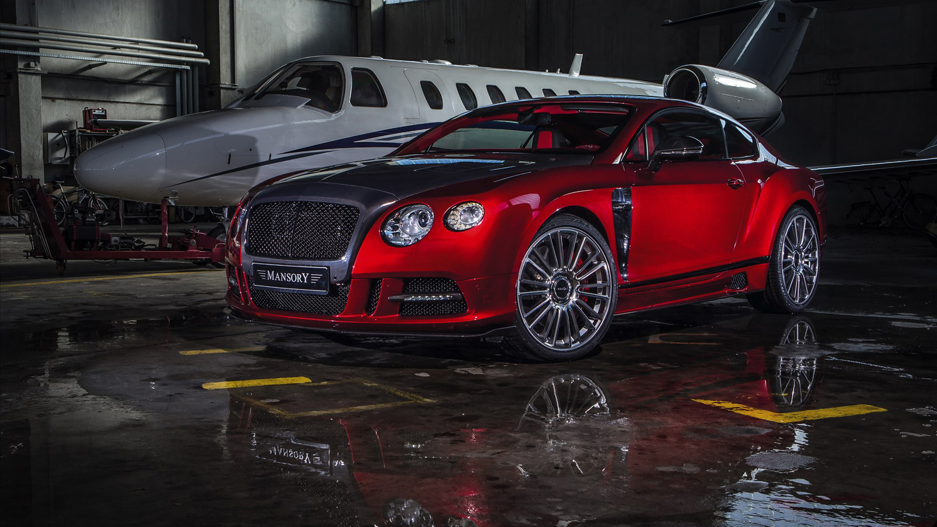2013 Mansory Sanguis Bentley Continental Gt Wallpaper Hd