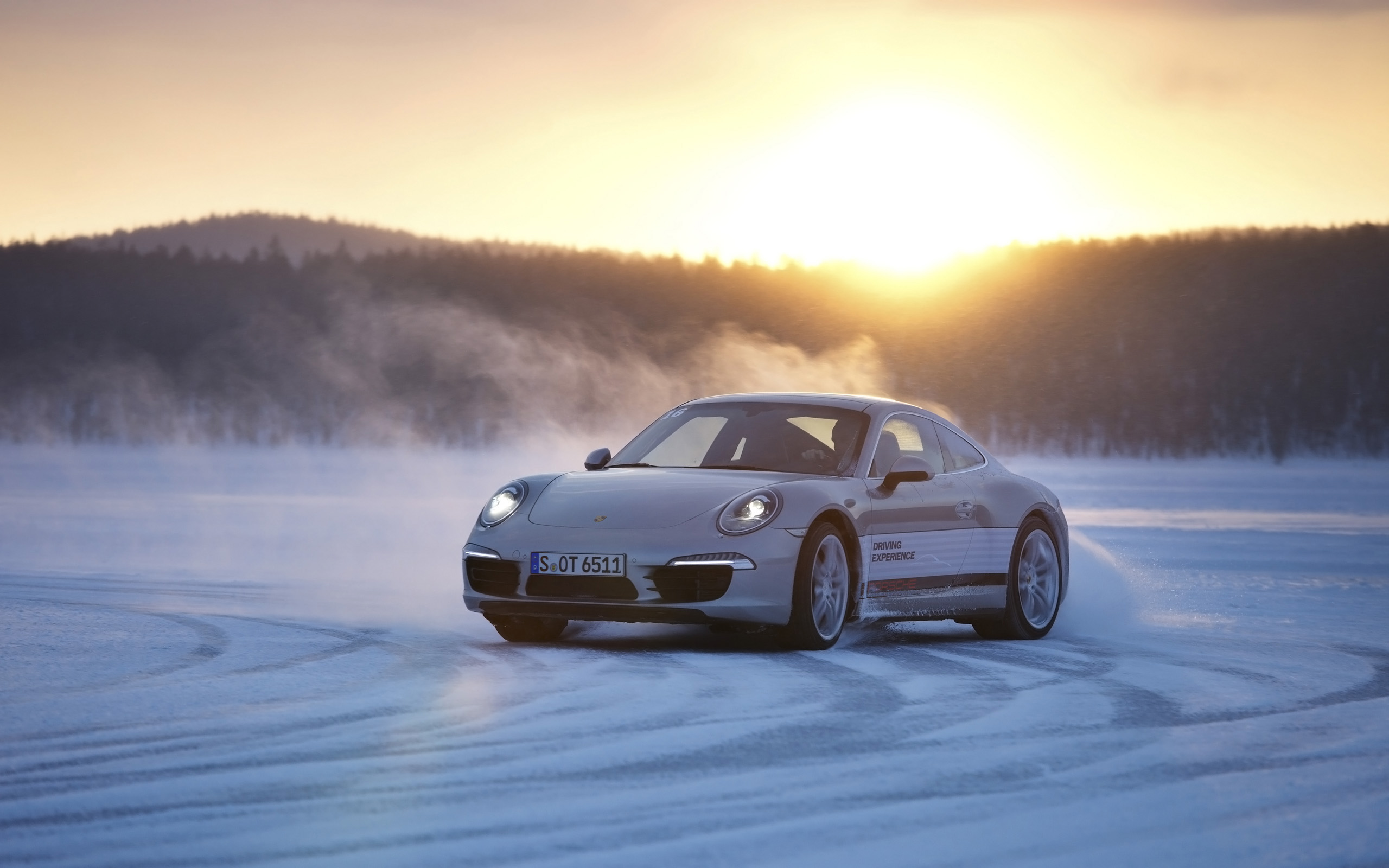2013 porsche 911 in snow wallpaper | hd car wallpapers | id #3409