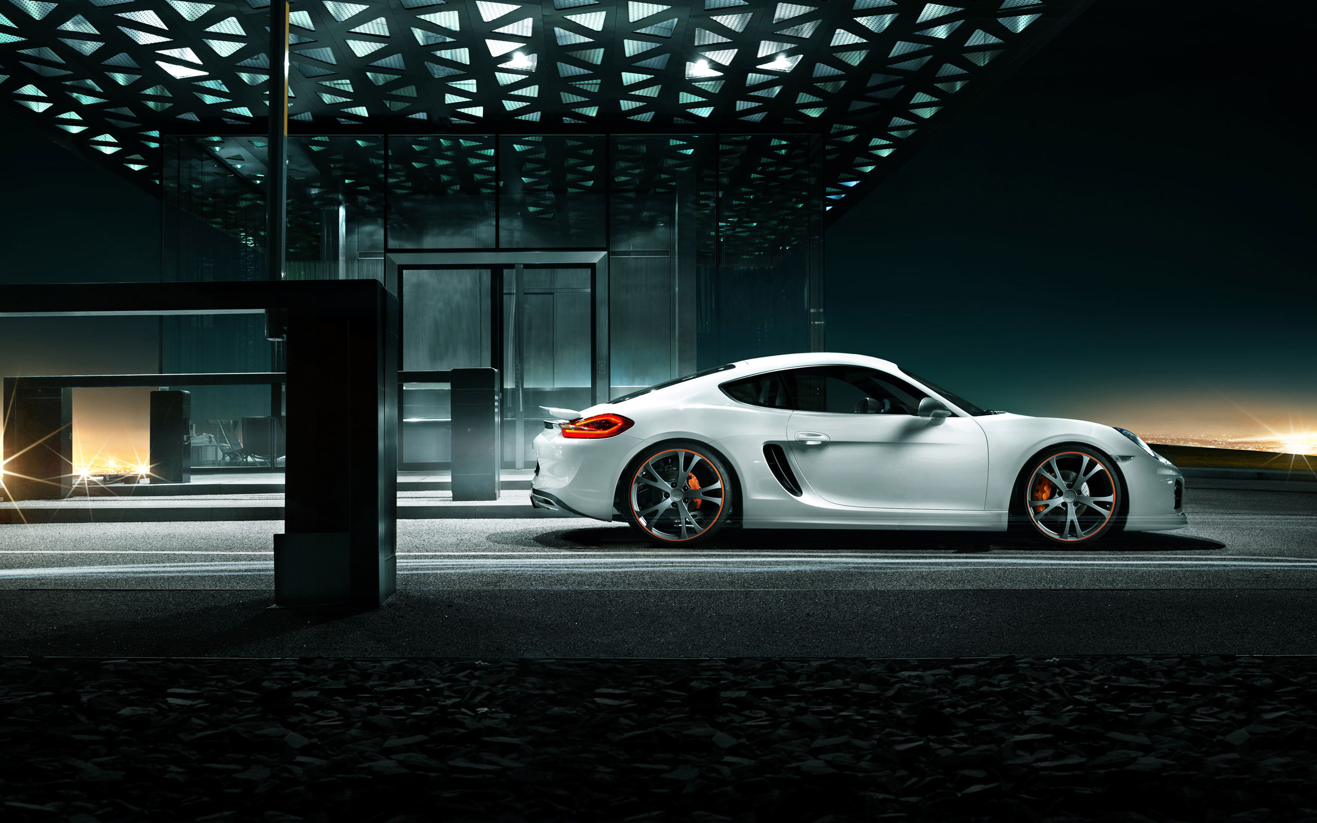 2013 Porsche Cayman by Techart 2 Wallpaper | HD Car Wallpapers