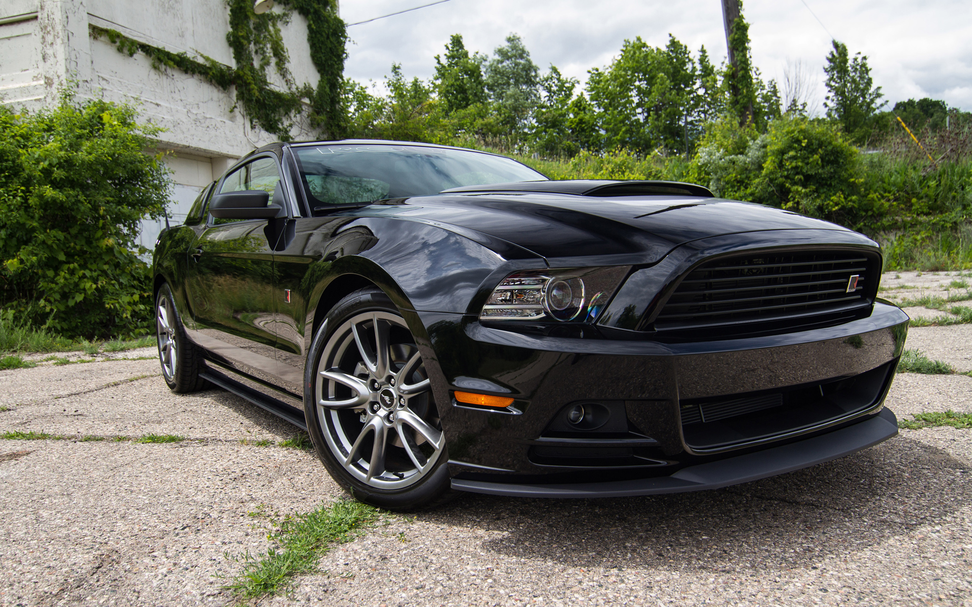 2013 roush rs mustang wallpaper hd car wallpapers id 2892