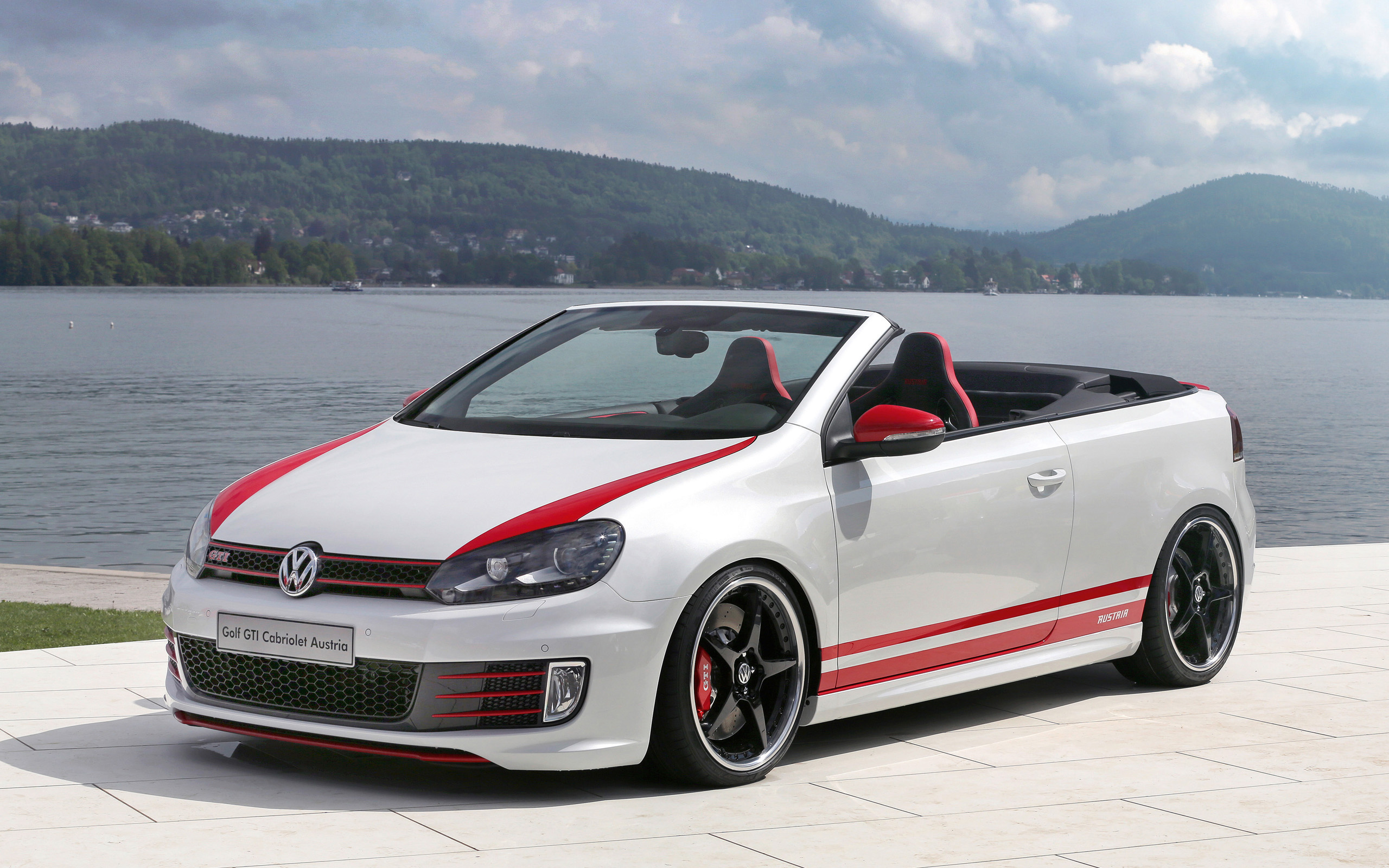2013 volkswagen golf gti cabrio austria wallpaper hd car wallpapers id 3463. Black Bedroom Furniture Sets. Home Design Ideas
