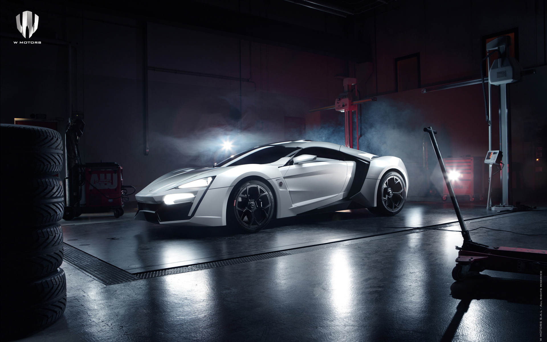 2013 W Motors Lykan HyperSport Wallpaper HD Car Wallpapers