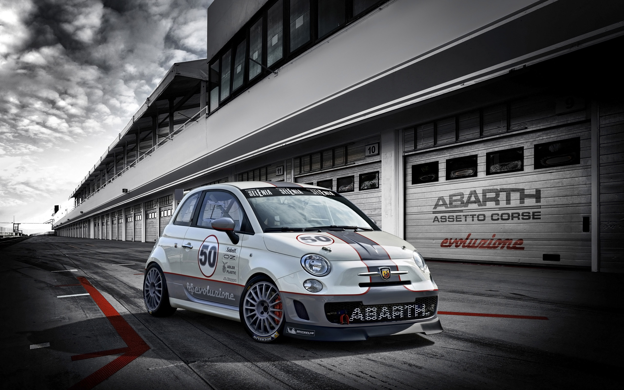 2014 Abarth 695 Assetto Corse Wallpaper | HD Car Wallpapers