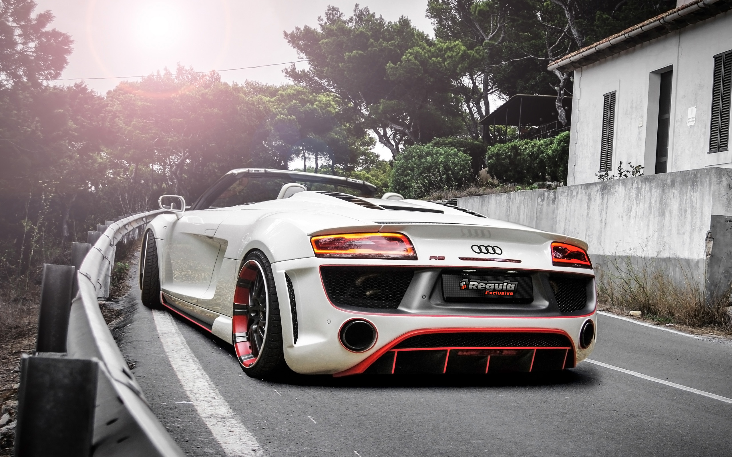 2014 Audi R8 V10 Spyder By Regula Tuning 2 Wallpaper Hd