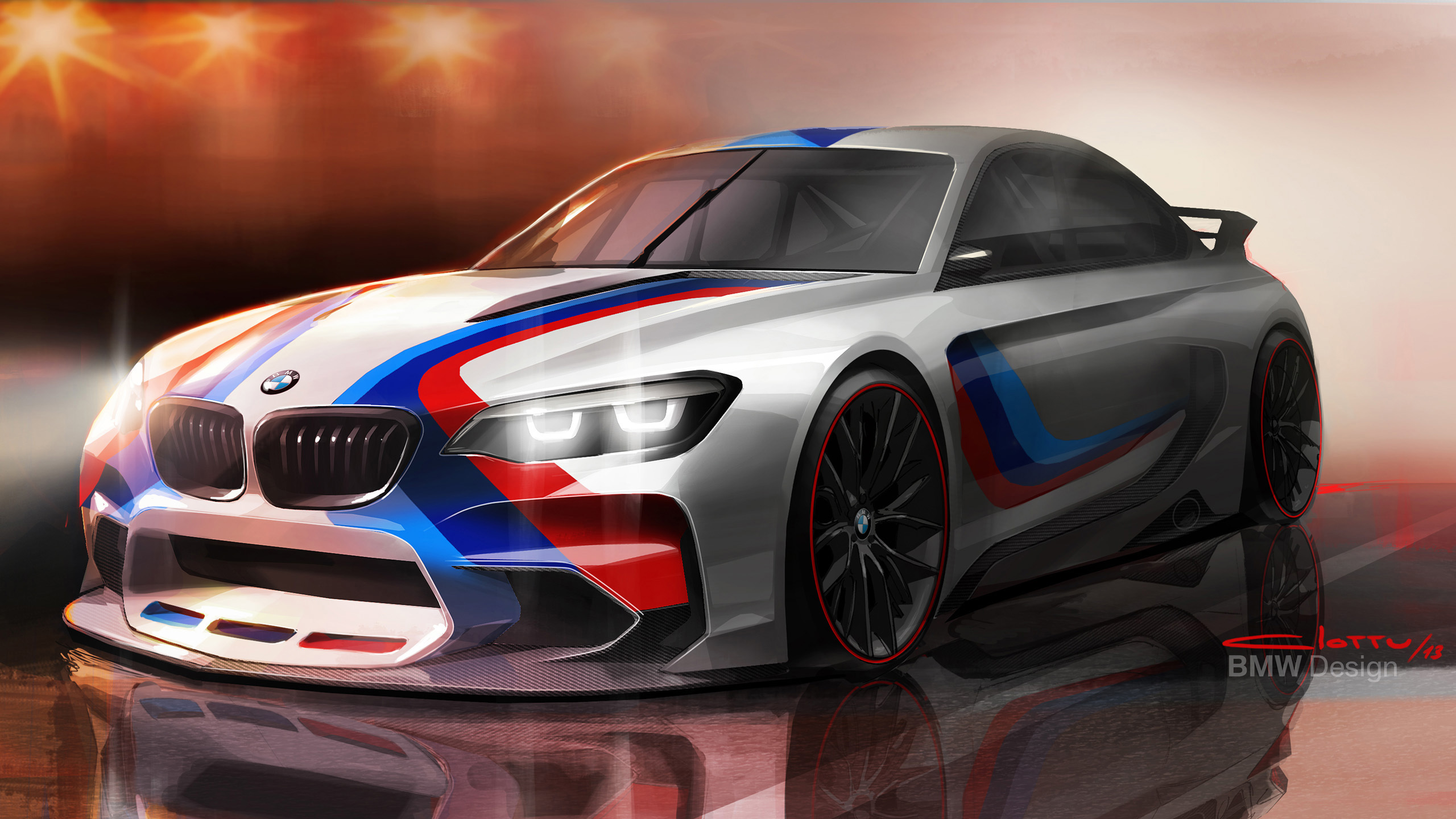 2014 BMW Vision Gran Turismo Concept Wallpaper | HD Car Wallpapers