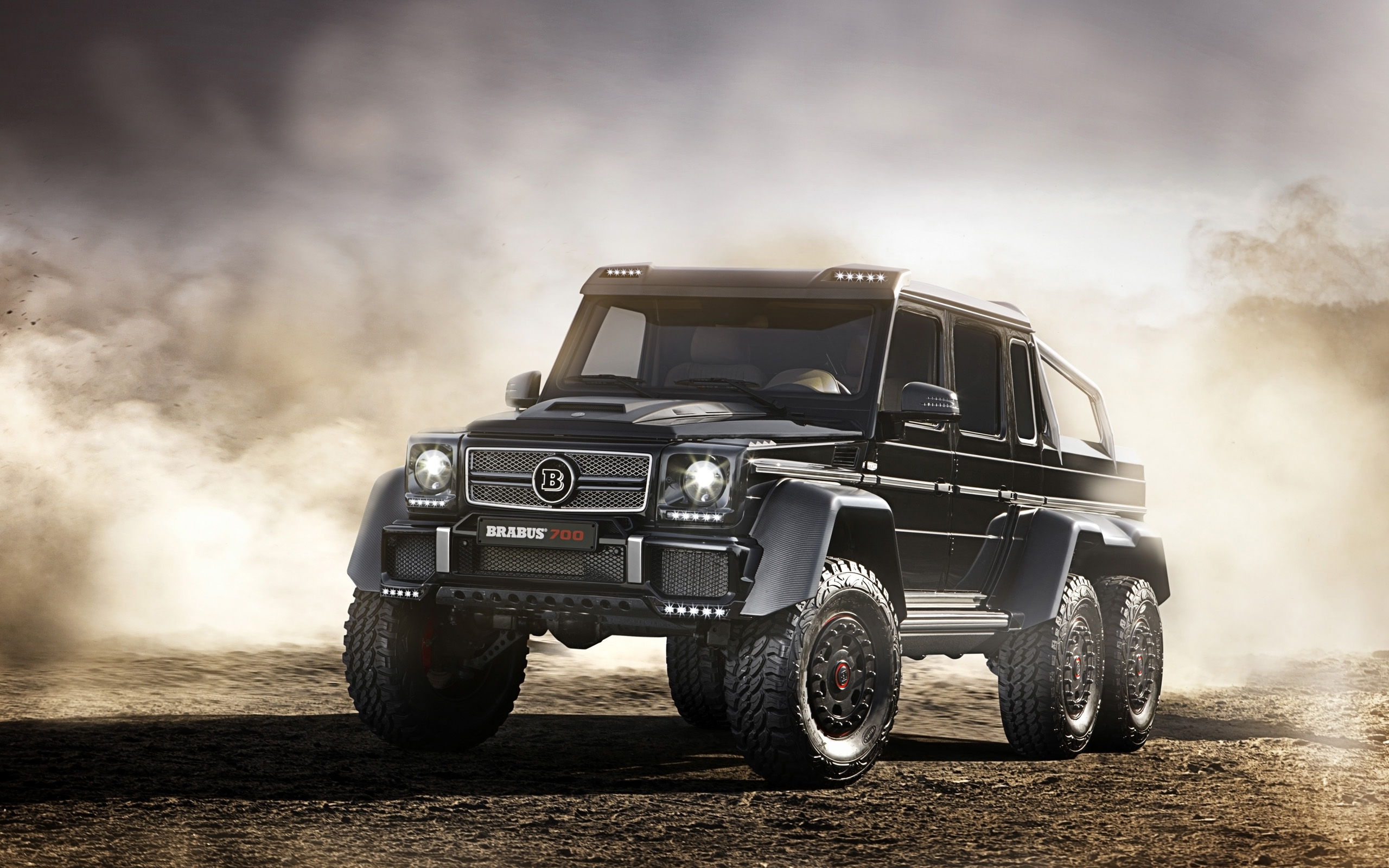 2014 Brabus Mercedes Benz B63s 700 6x6 Wallpaper Hd Car Wallpapers Id 4271