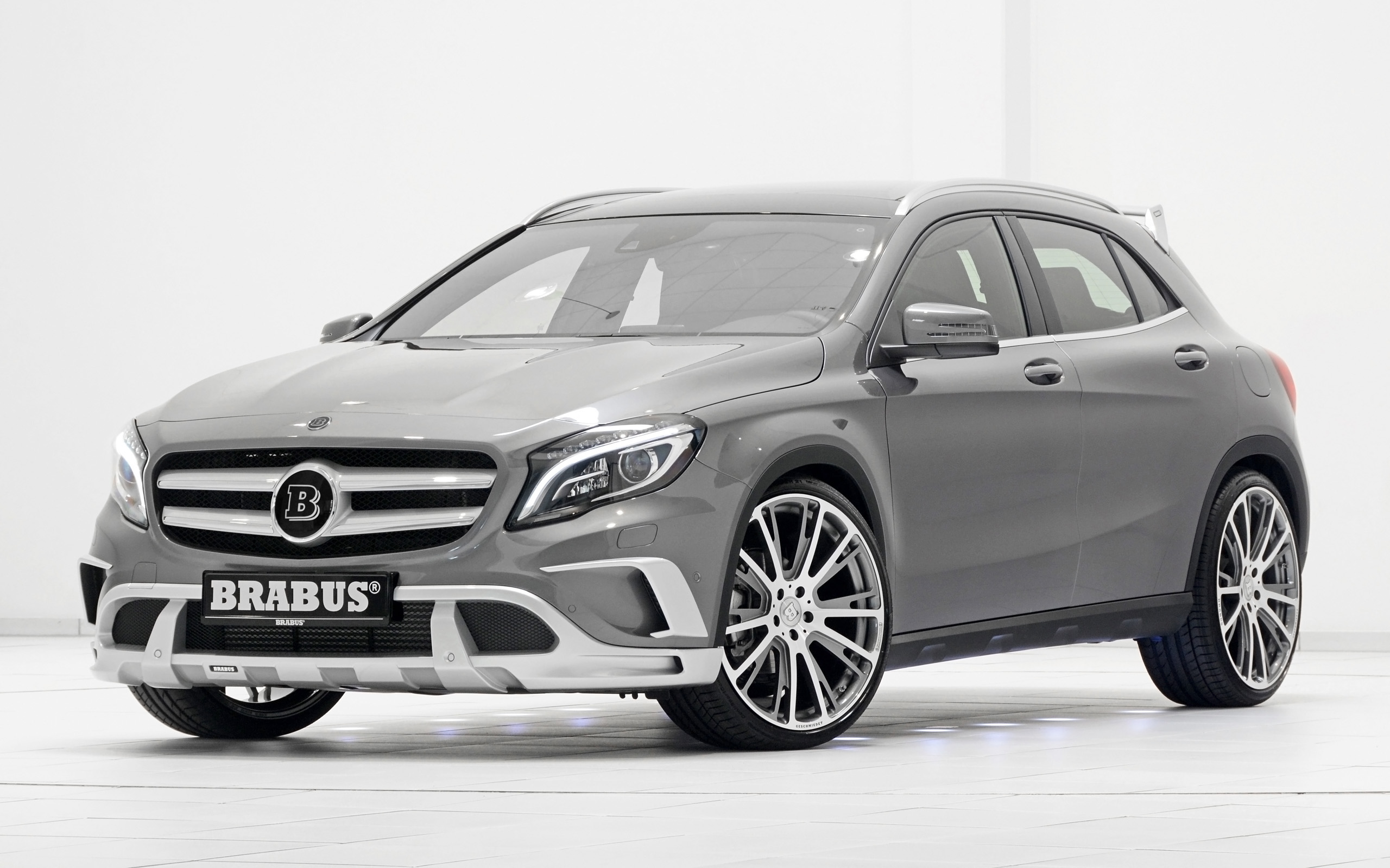 2014 brabus mercedes benz gla class wallpaper hd car