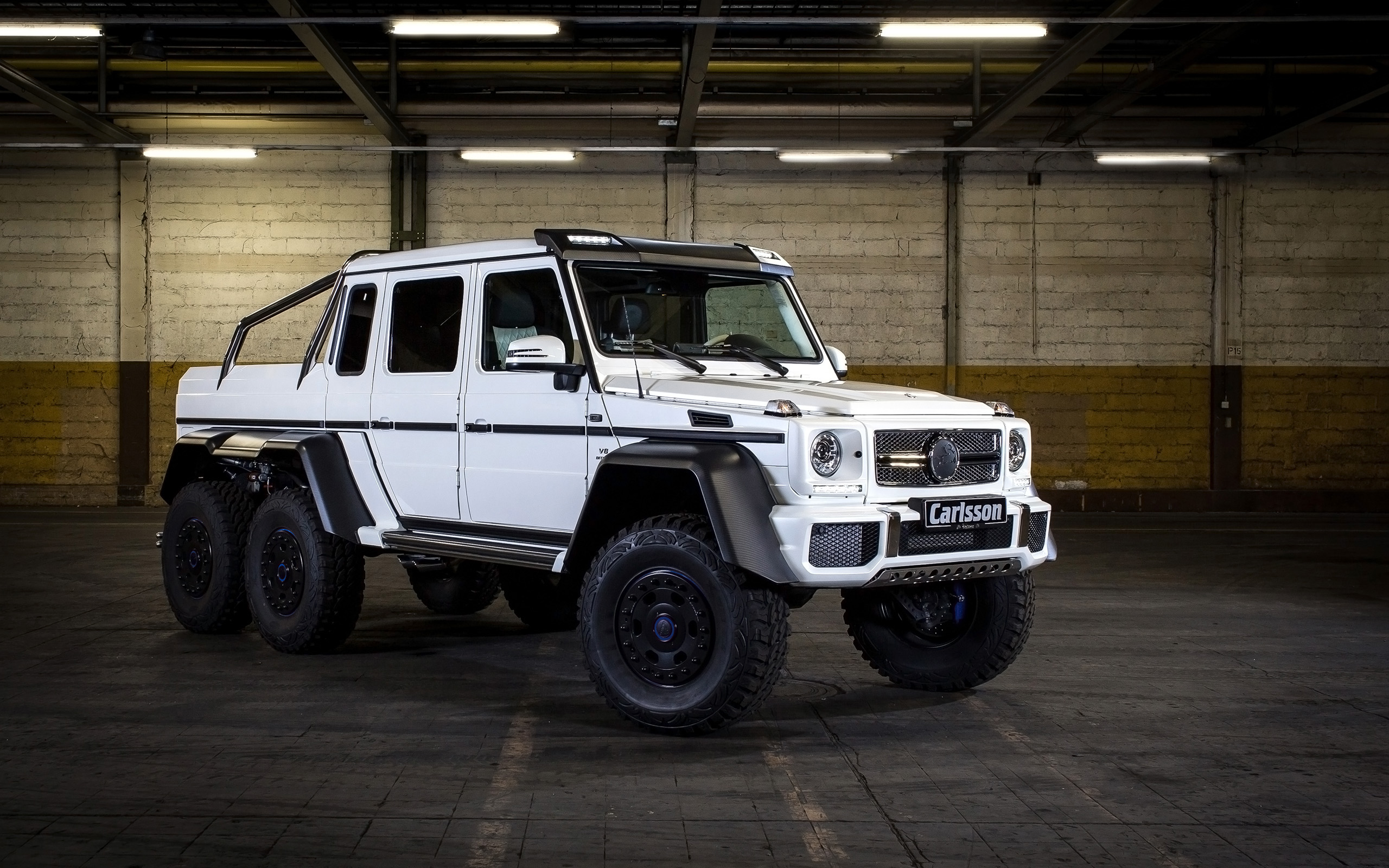 2014 Carlsson Mercedes Benz Cg63 Amg 6x6 Wallpaper Hd