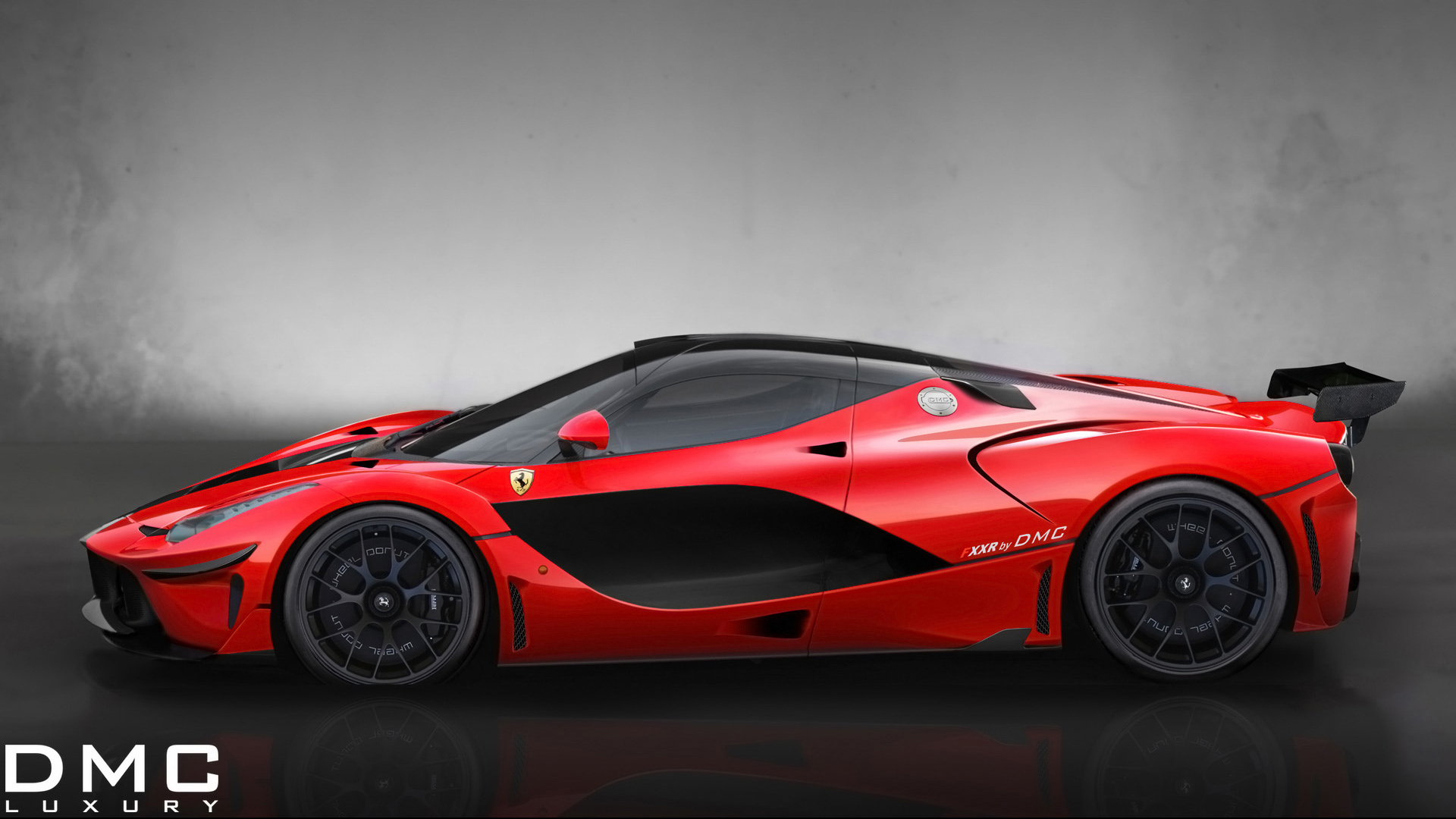 2014 DMC Ferrari LaFerrari FXXR 2 Wallpaper  HD Car Wallpapers