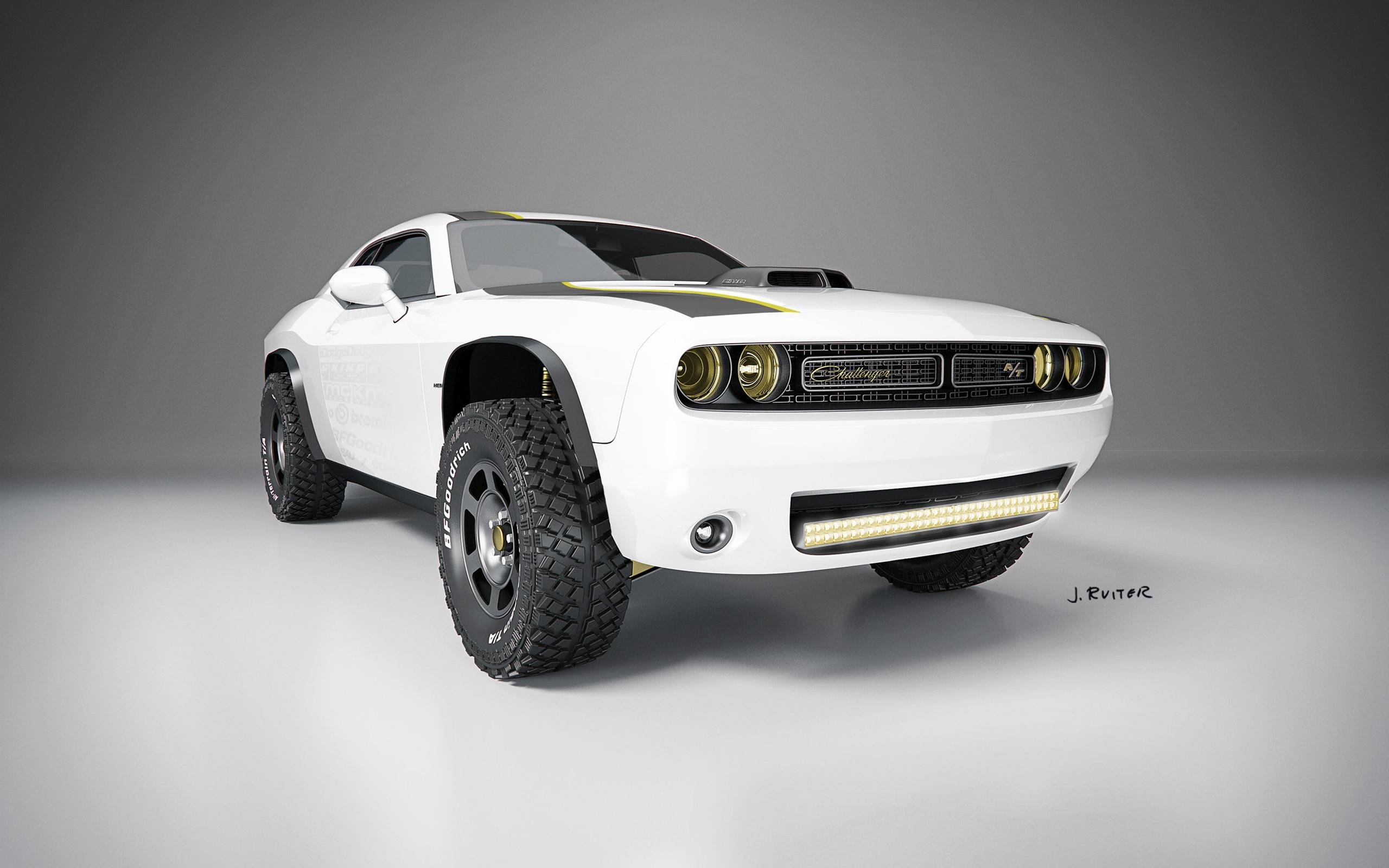 Dodge Challenger New York Auto Show 2014  autobildde