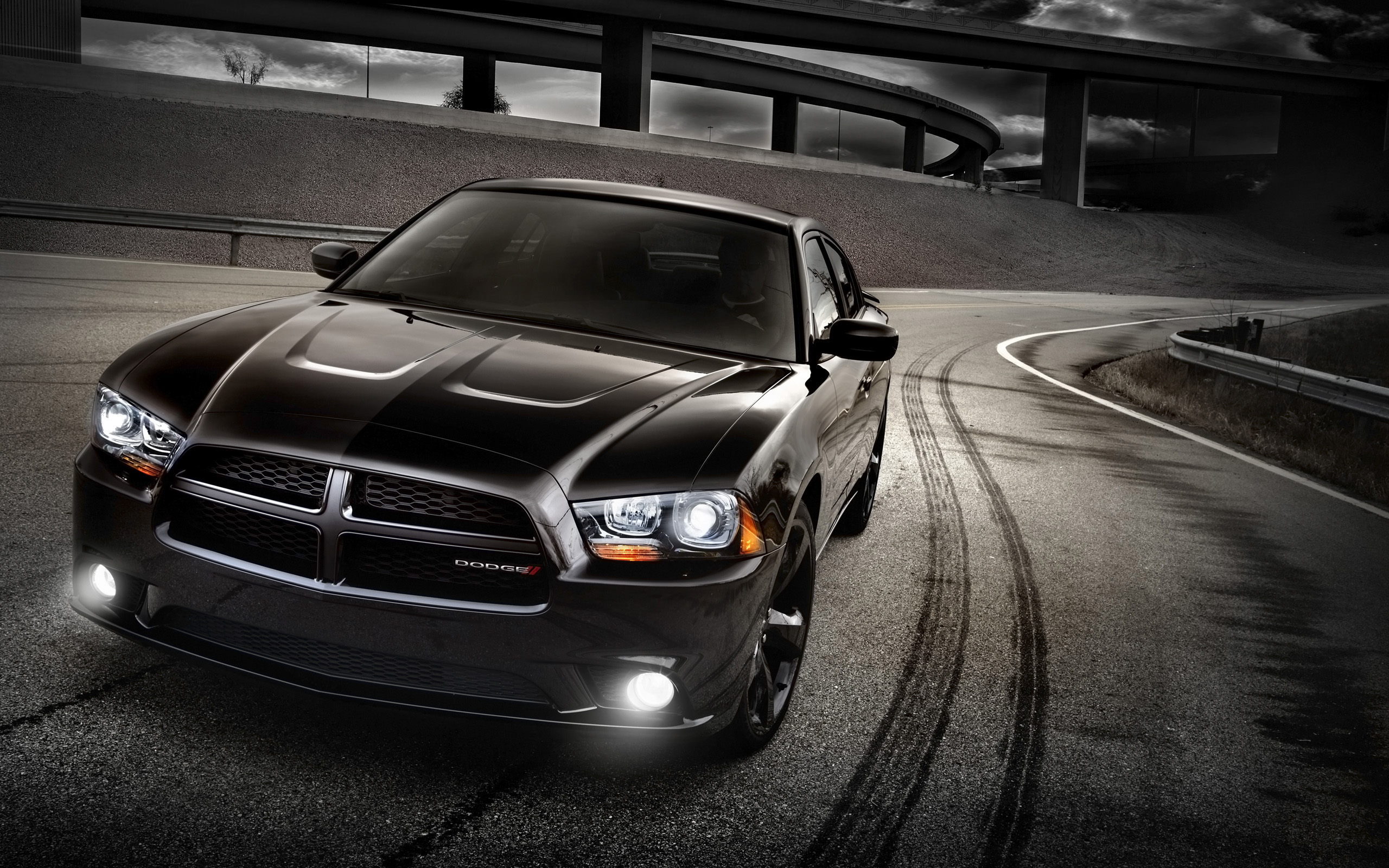 2014 Dodge Charger Blacktop Wallpaper Hd Car Wallpapers Id 4355
