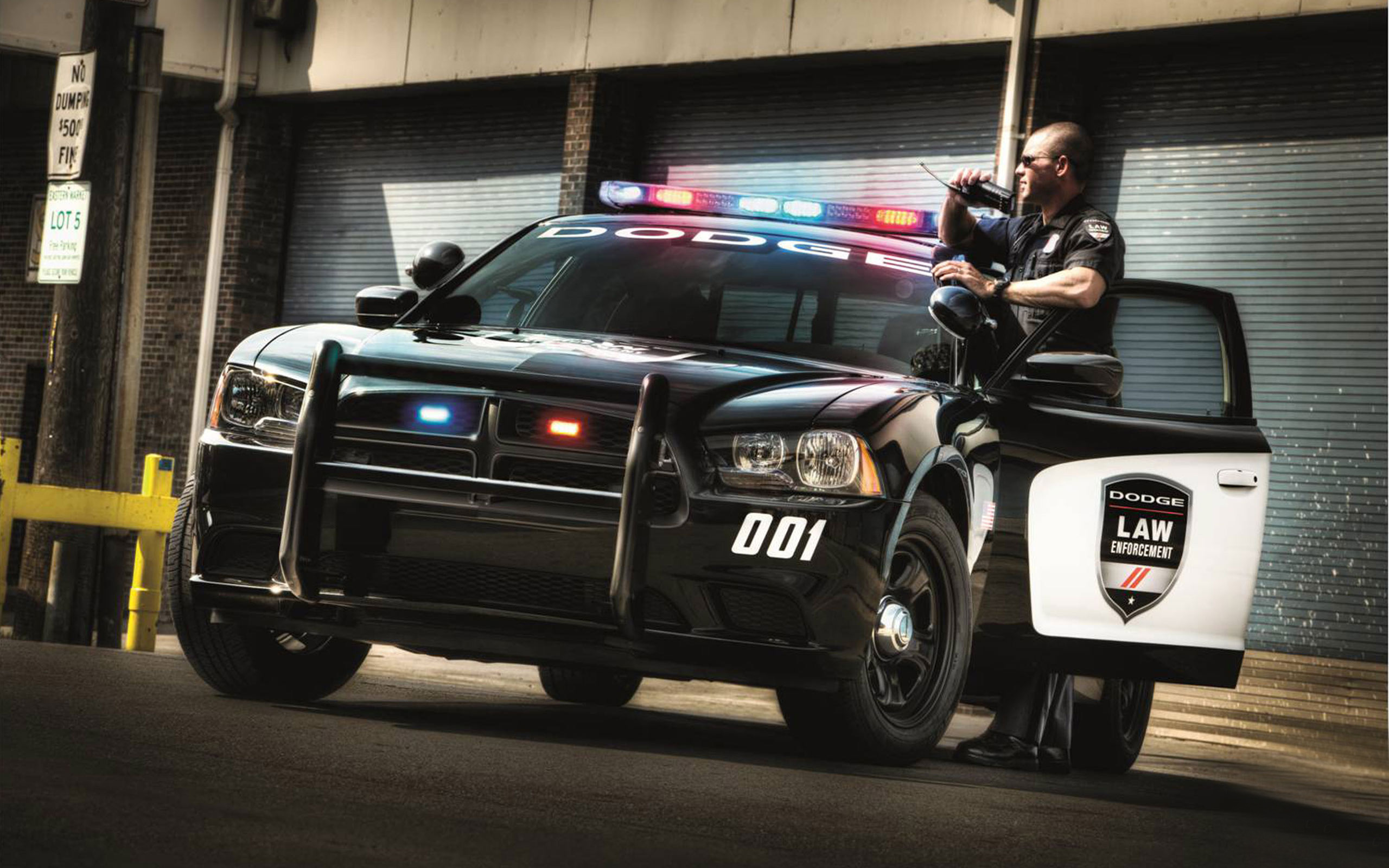 2014 Dodge Charger Police Car