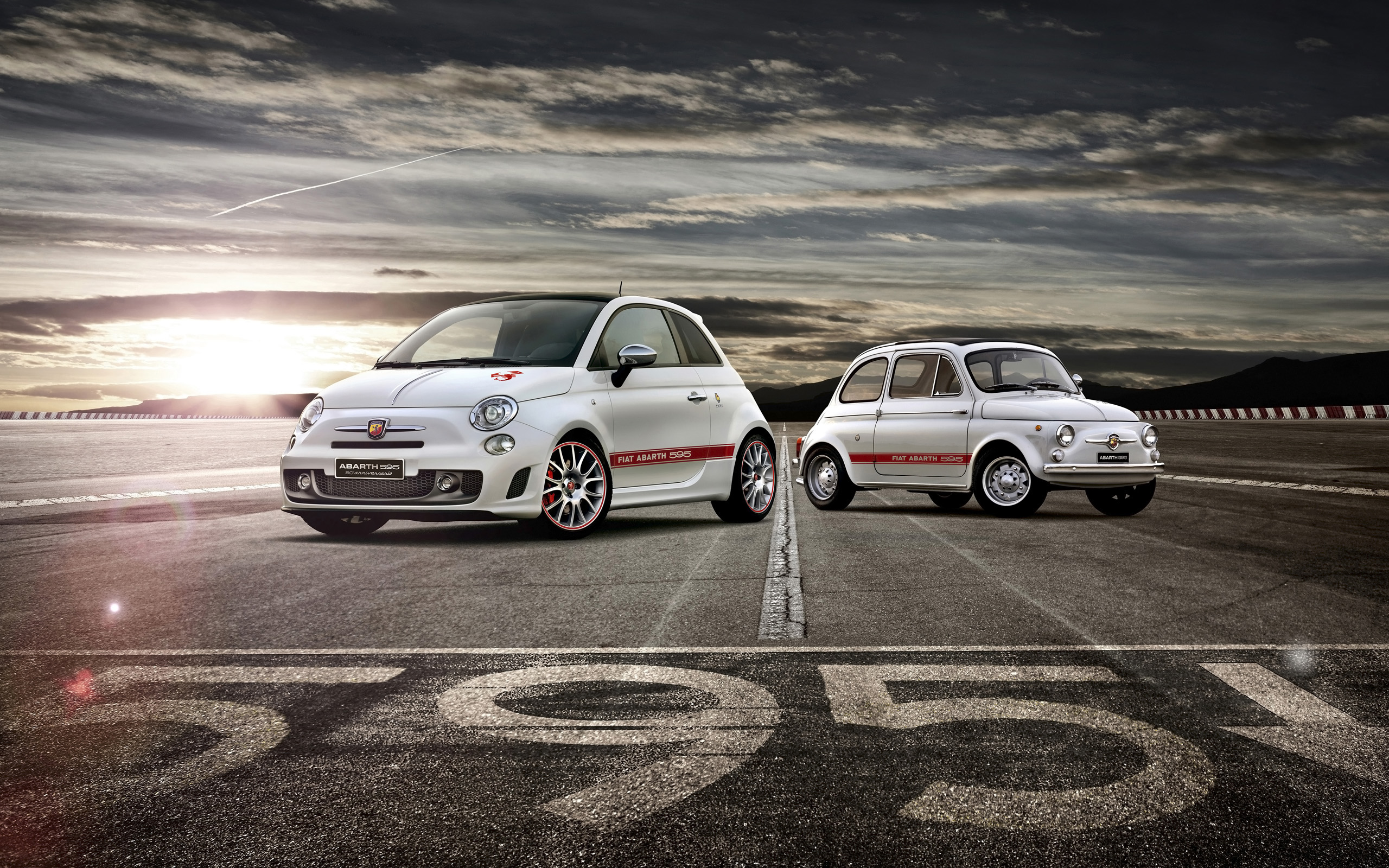 2014 Fiat Abarth 595 50th Anniversary Wallpaper | HD Car Wallpapers
