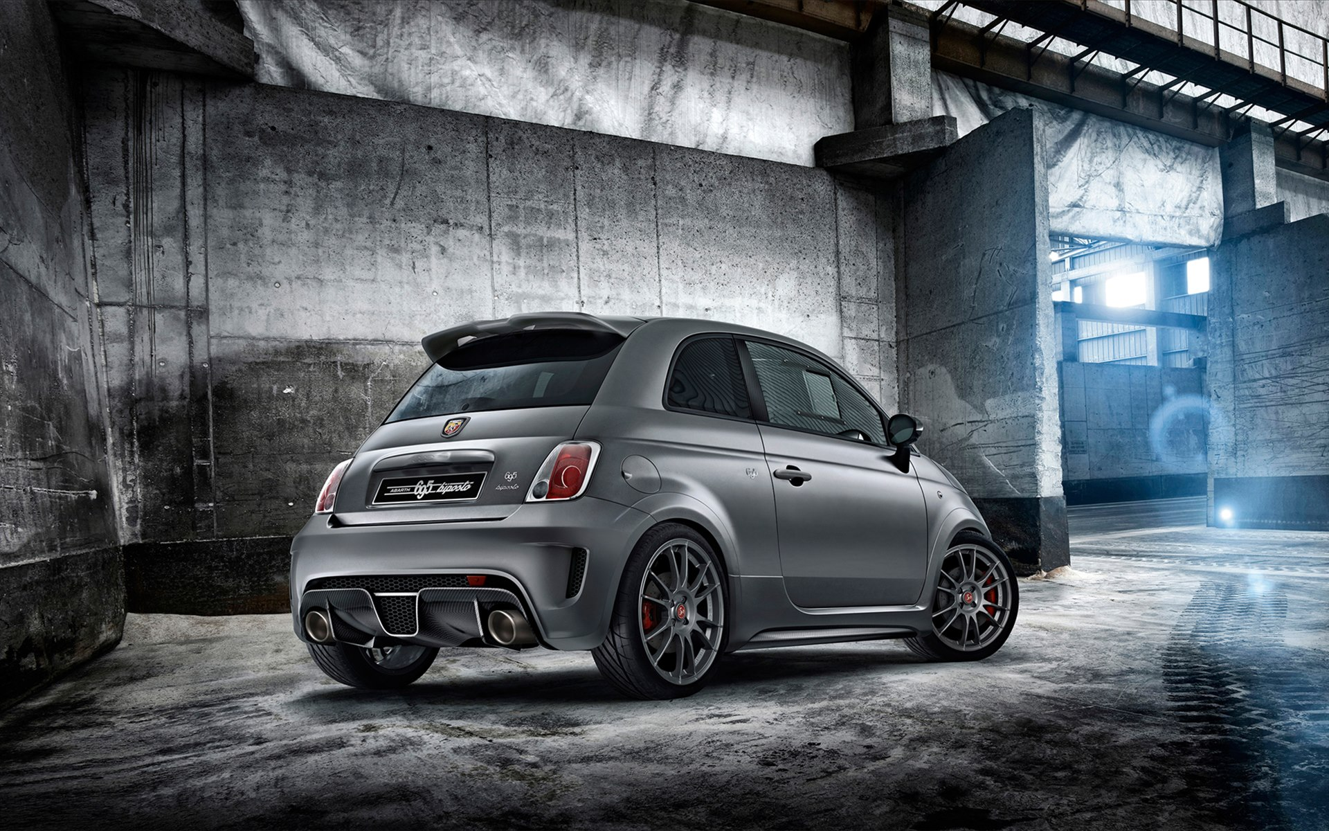 2014 fiat abarth 695 biposto 2 wallpaper hd car. Black Bedroom Furniture Sets. Home Design Ideas