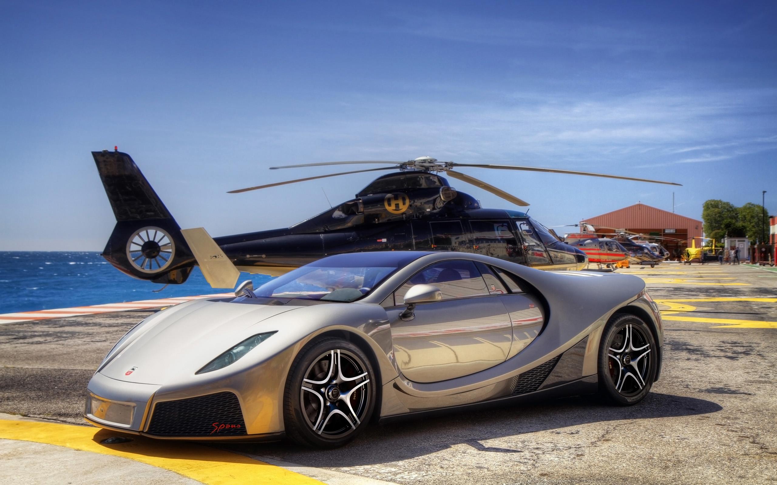 Charmant 2014 GTA Spano Silver