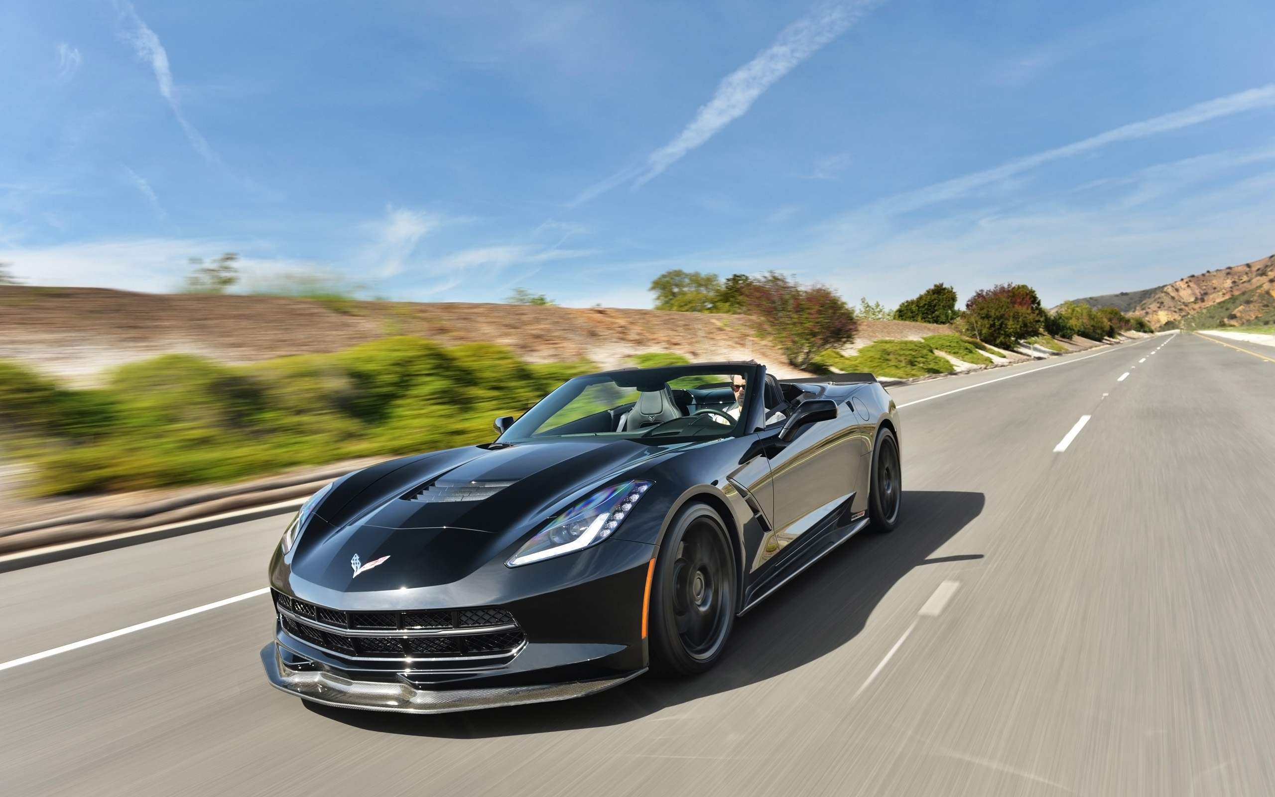 2014 Chevrolet Corvette Stingray Hennessey HPE700 Twin Turbo ...