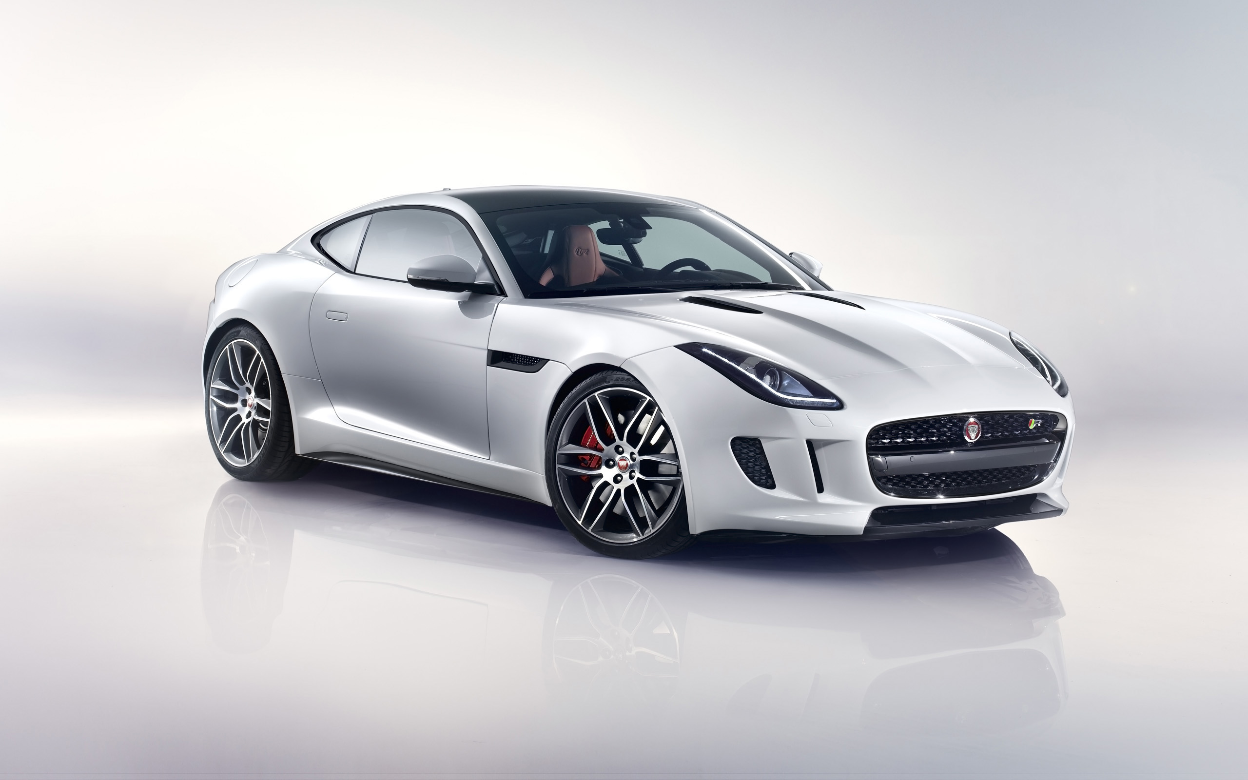 2014 jaguar f type r coupe white wallpaper hd car wallpapers id 4227. Black Bedroom Furniture Sets. Home Design Ideas