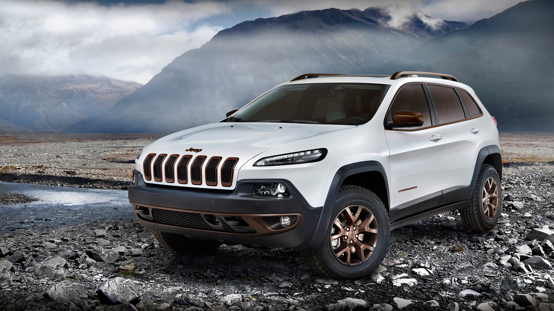 Jeep Car Images Hd: 2014 Jeep Cherokee Sageland Concept Wallpaper