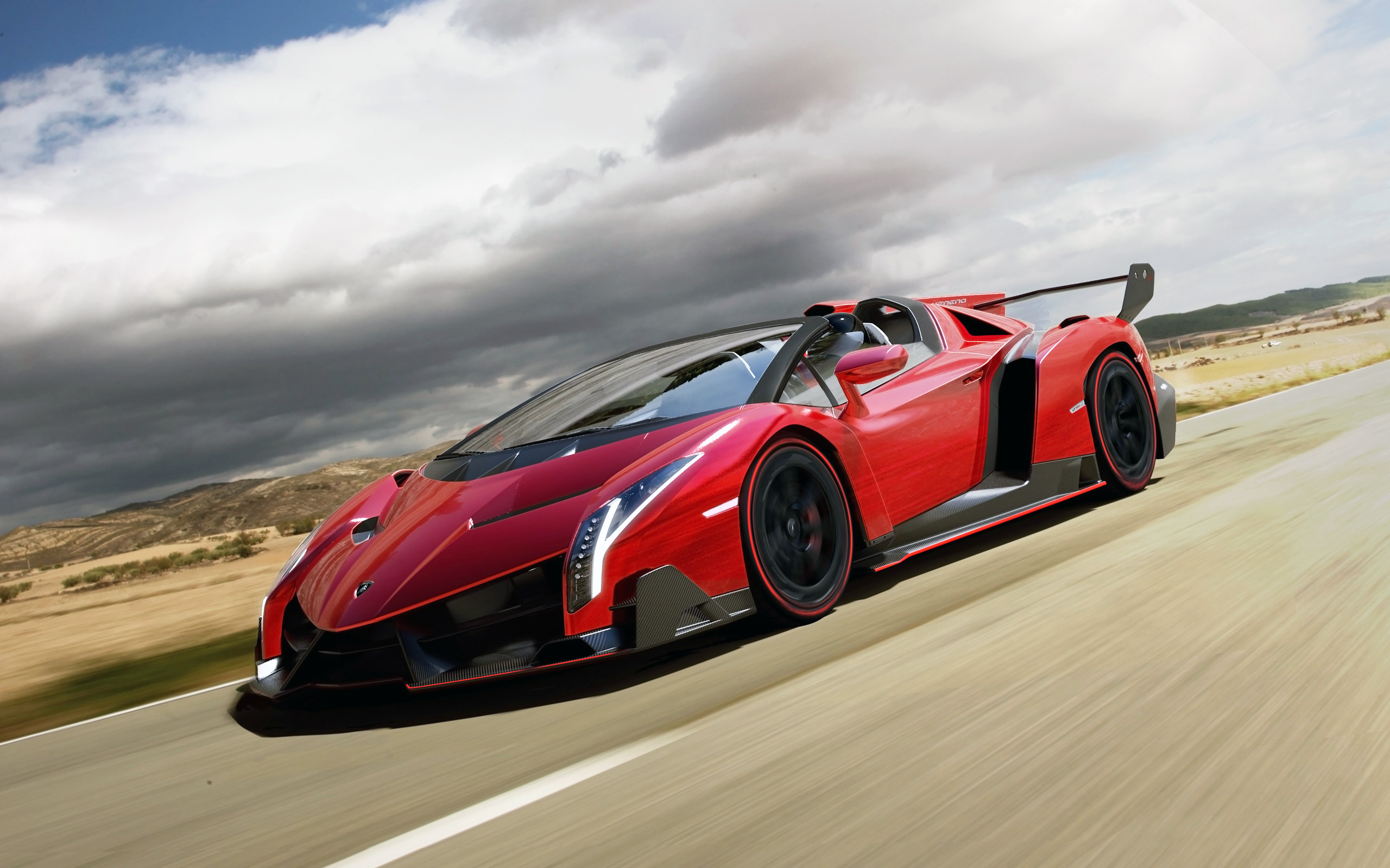 2014 Lamborghini Veneno Roadster Wallpaper