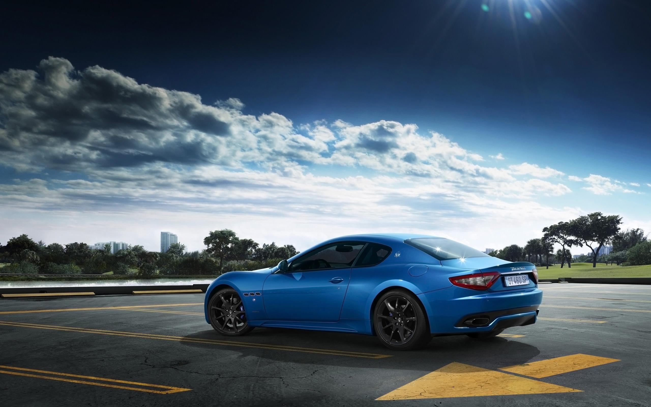 2014 Maserati GranTurismo Sport Blue Wallpaper   HD Car ...