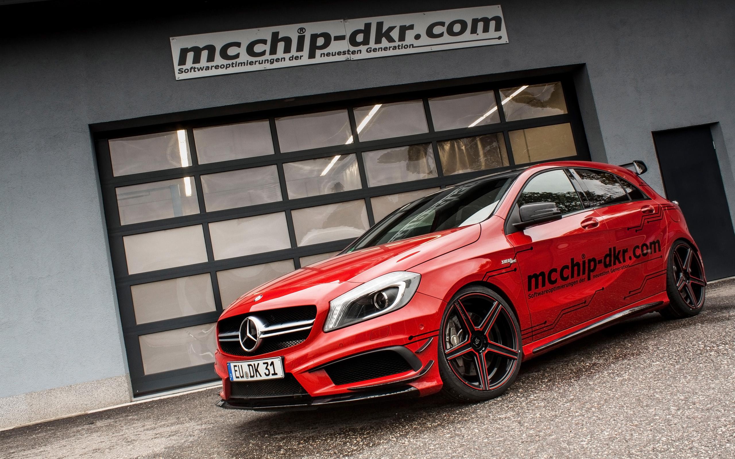 2014 mercedes benz a45 amg by mcchip dkr wallpaper hd for Mercedes benz amg a45
