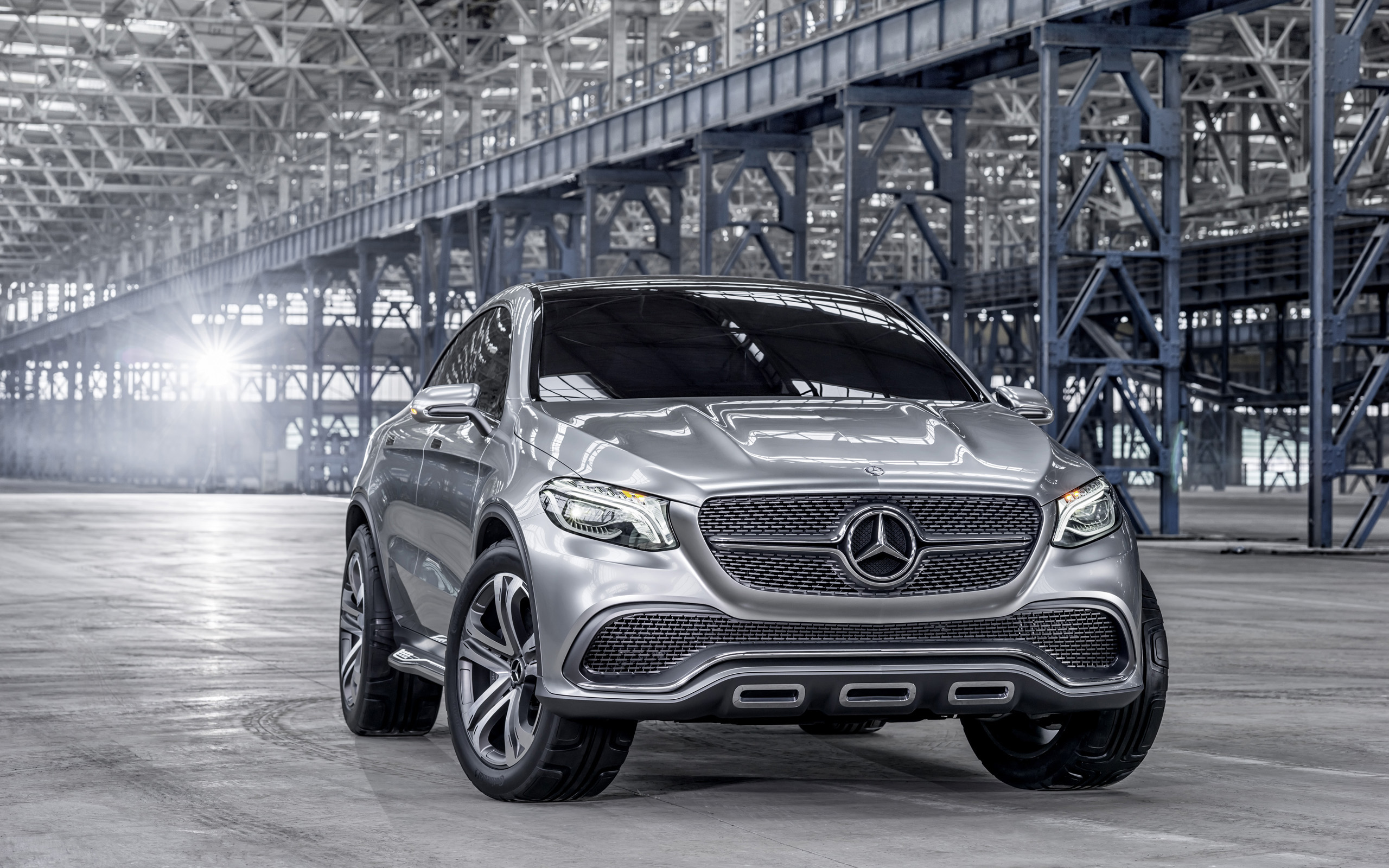 2014 mercedes benz concept coupe suv wallpaper hd car for Mercedes benz suv coupe