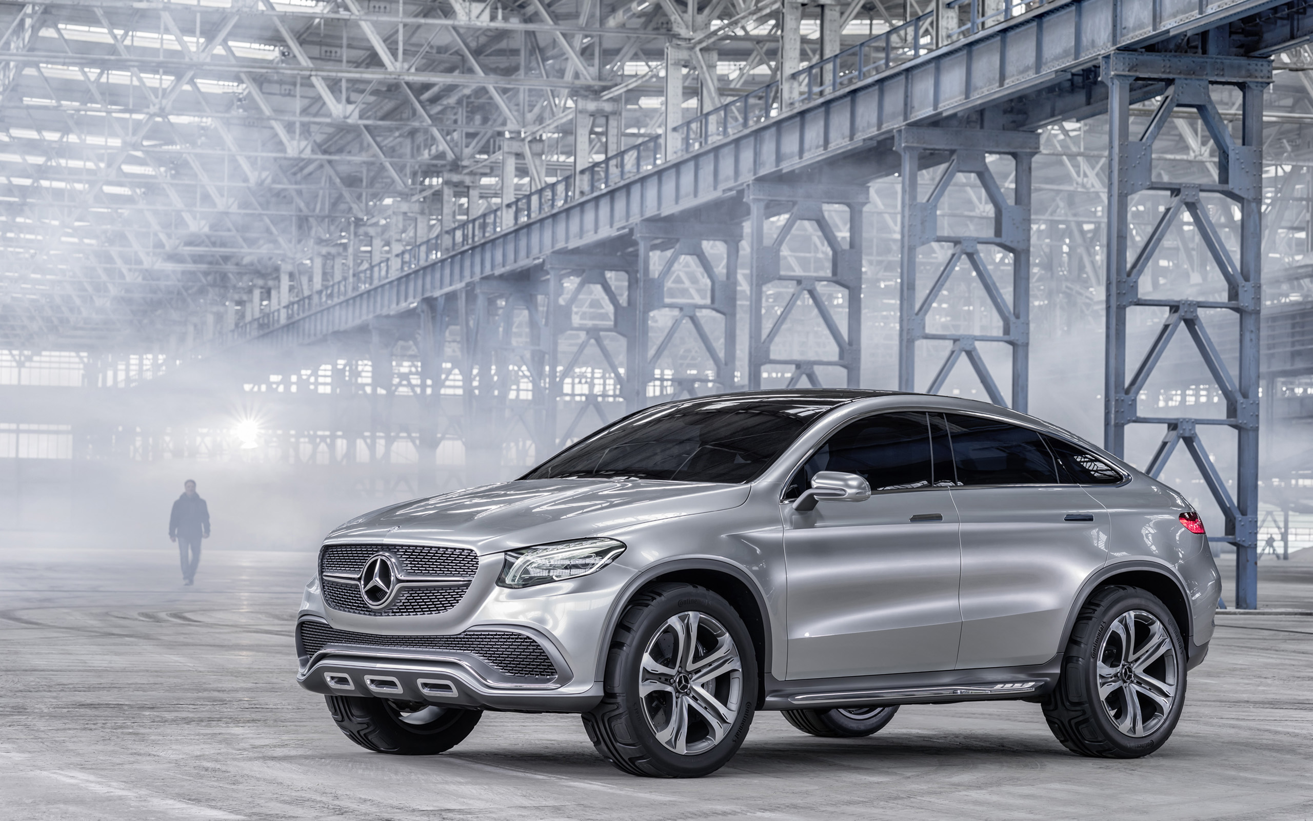 2014 mercedes benz concept coupe suv 3 wallpaper hd car for Camioneta mercedes benz