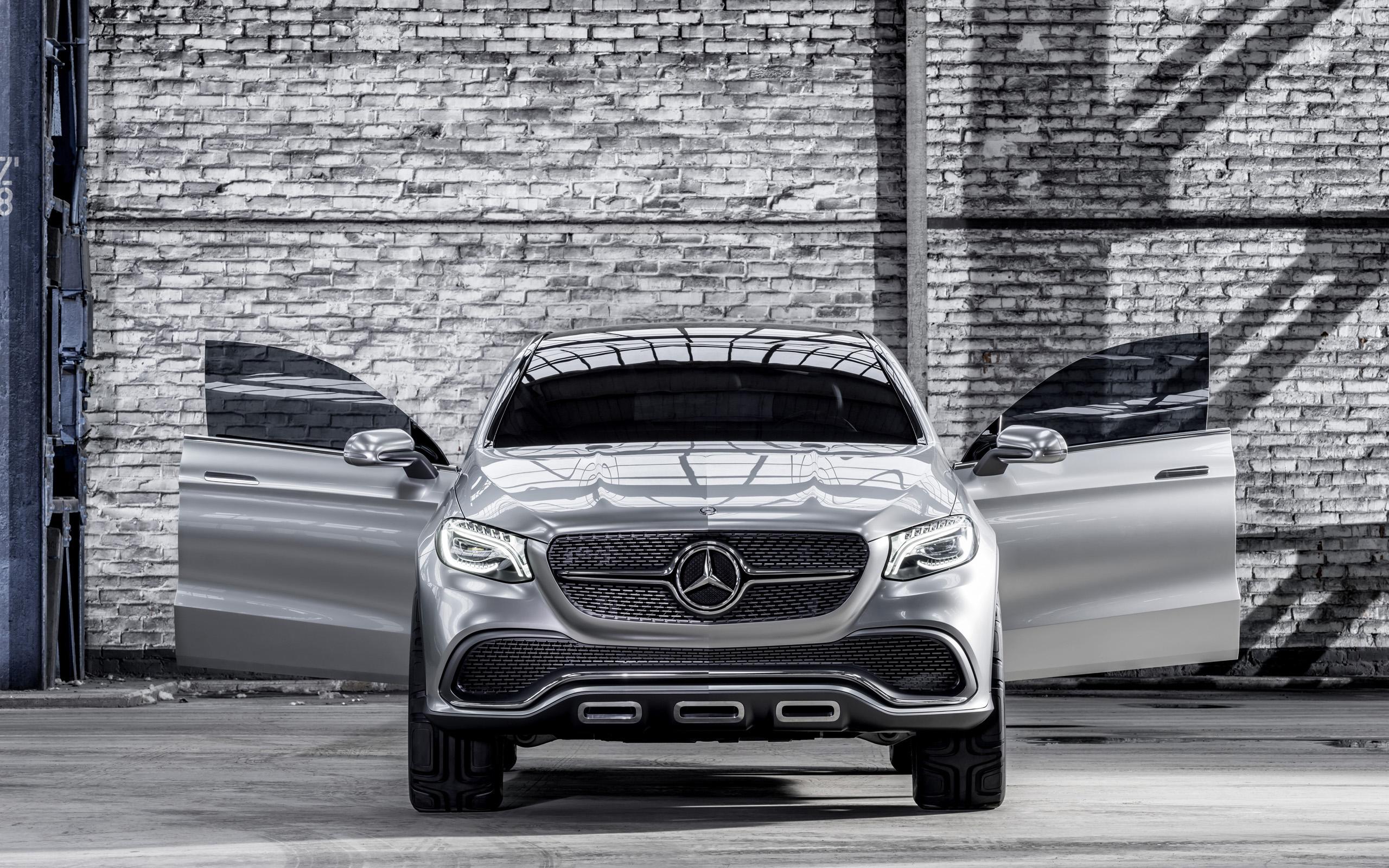2014 mercedes benz concept coupe suv 5 wallpaper hd car for Mercedes benz suv 2014