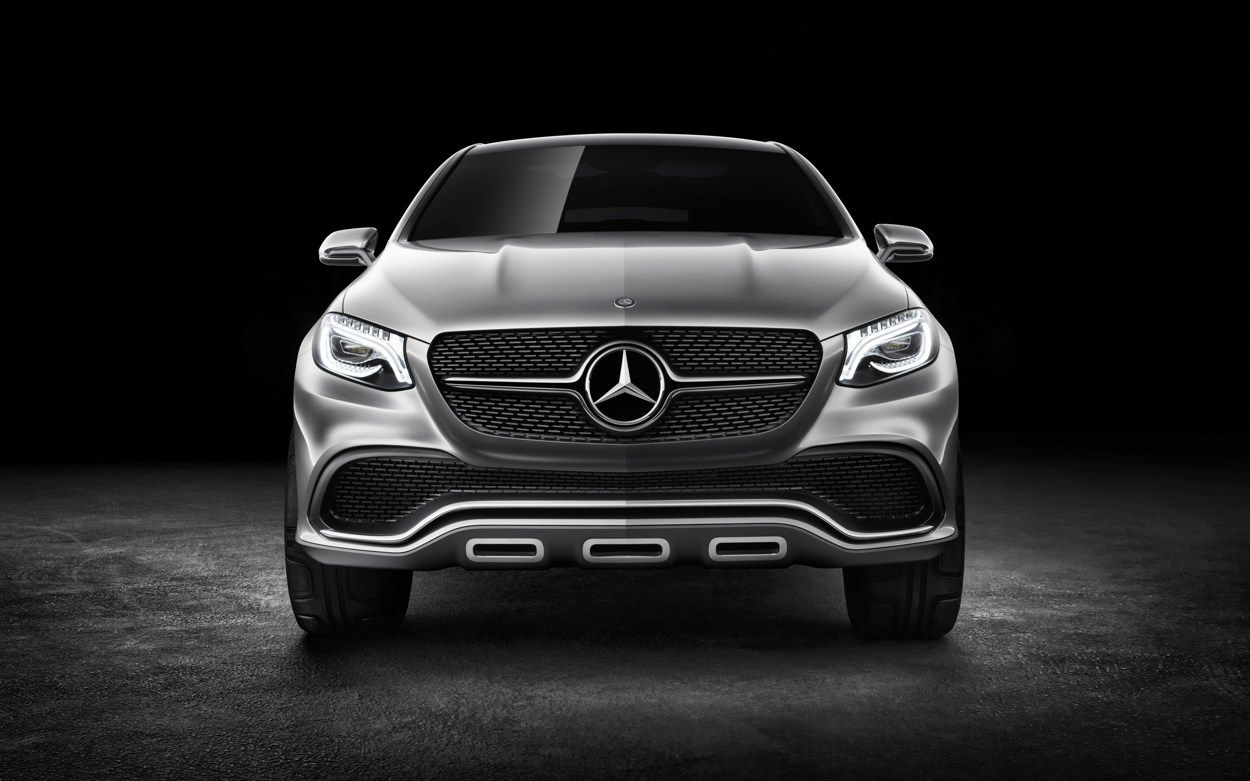 2014 Mercedes Benz Concept Coupe Suv 8 Wallpaper Hd Car Wallpapers Id 4468