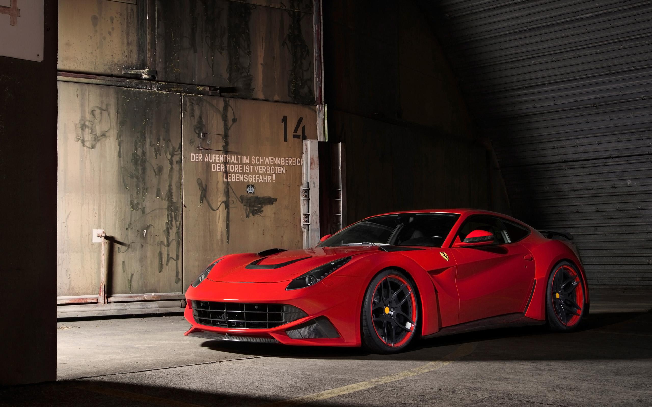 View Ferrari F12 Black Wallpaper  PNG