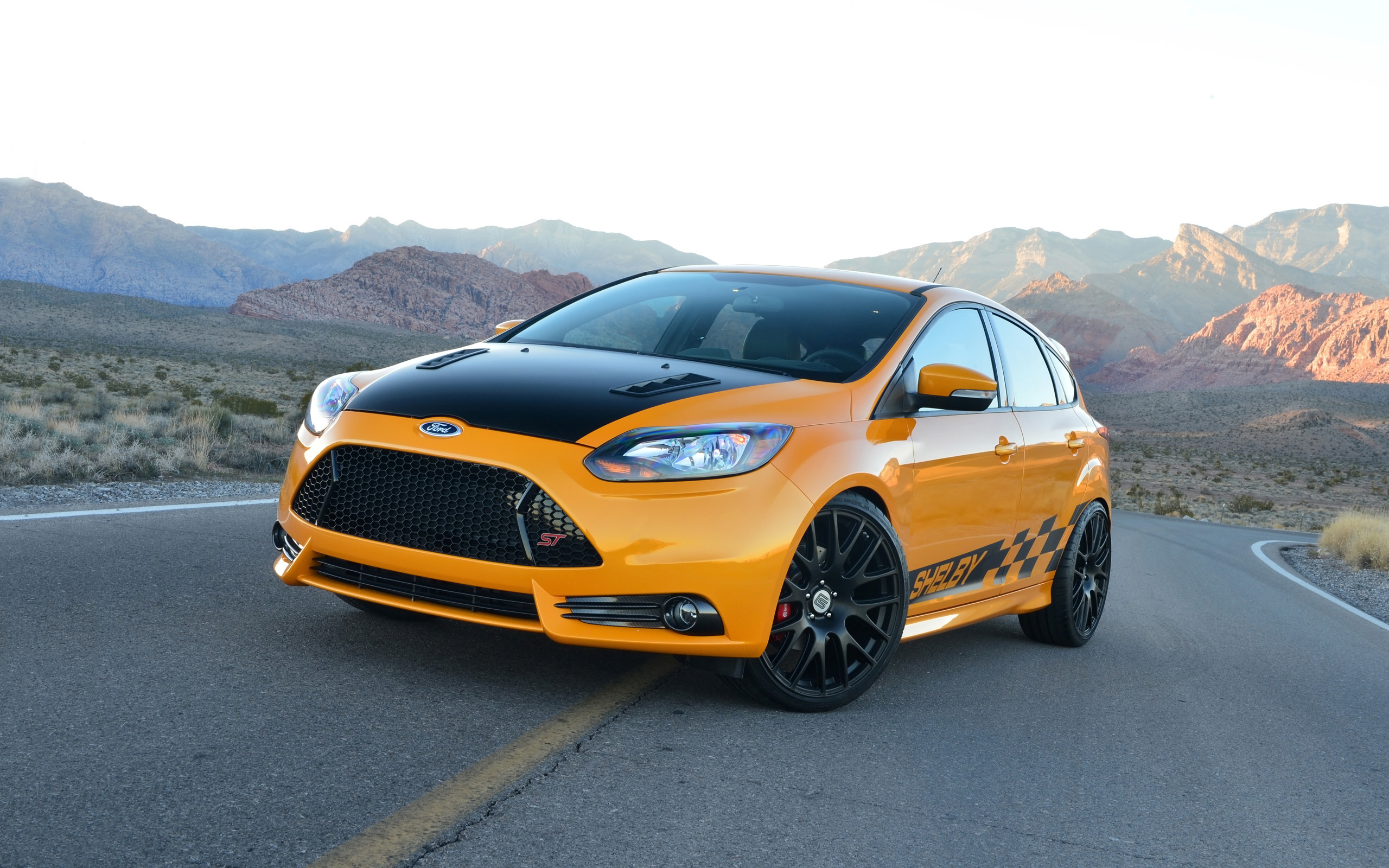 2014 shelby ford focus st wallpaper hd car wallpapers id 3796. Black Bedroom Furniture Sets. Home Design Ideas