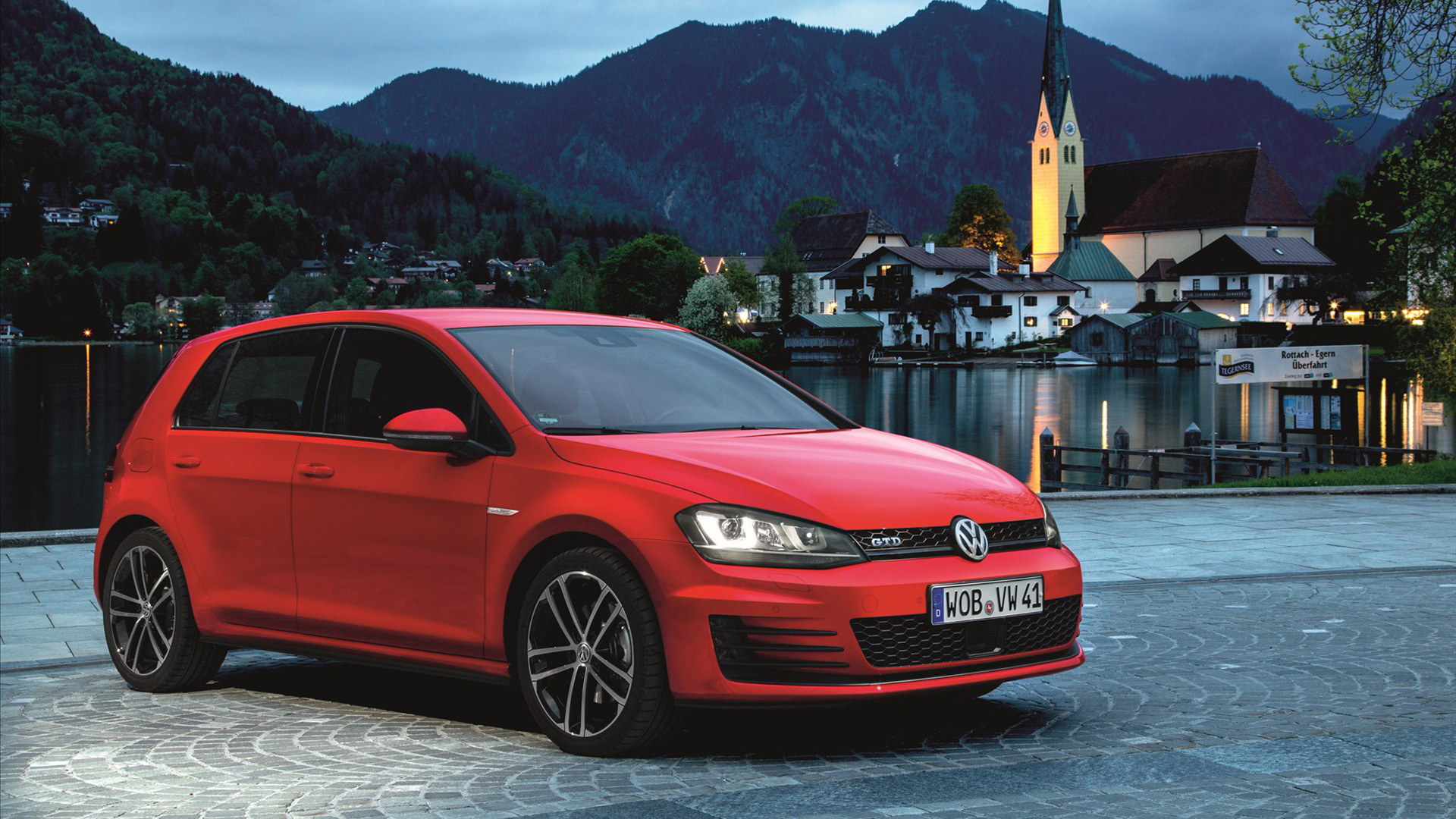 2014 volkswagen golf gtd wallpaper hd car wallpapers id 3466. Black Bedroom Furniture Sets. Home Design Ideas