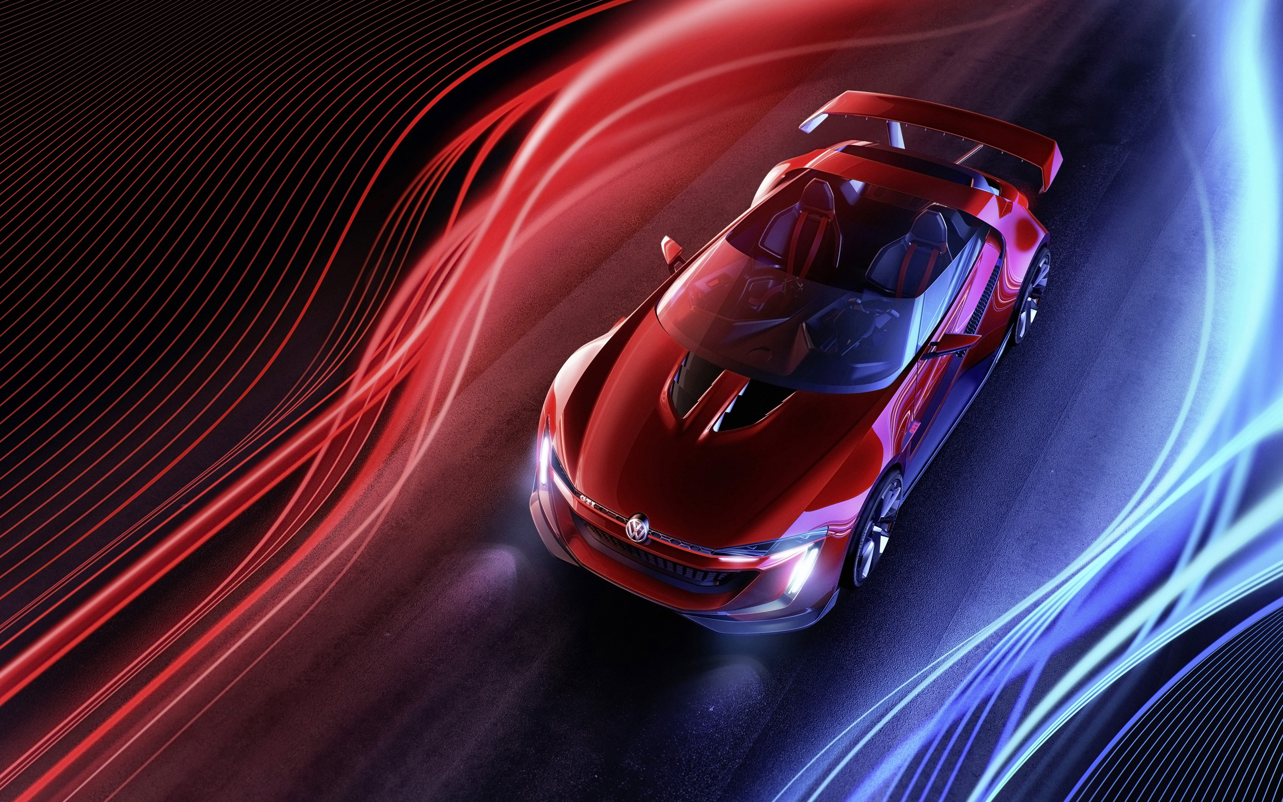 2014 Volkswagen GTI Roadster 2 Wallpaper HD Car Wallpapers
