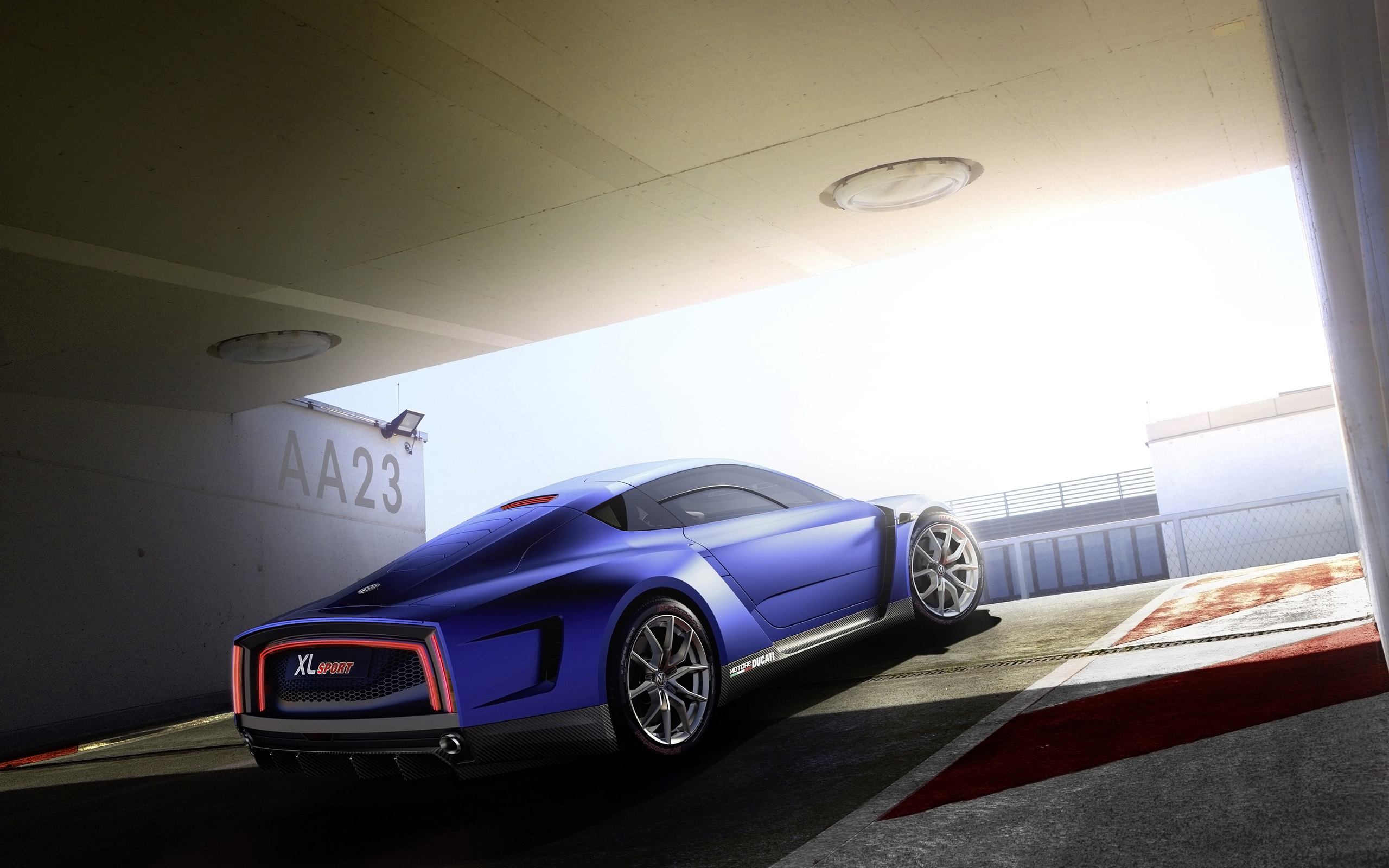 Volkswagen XL Sport Concept Wallpaper HD Car Wallpapers