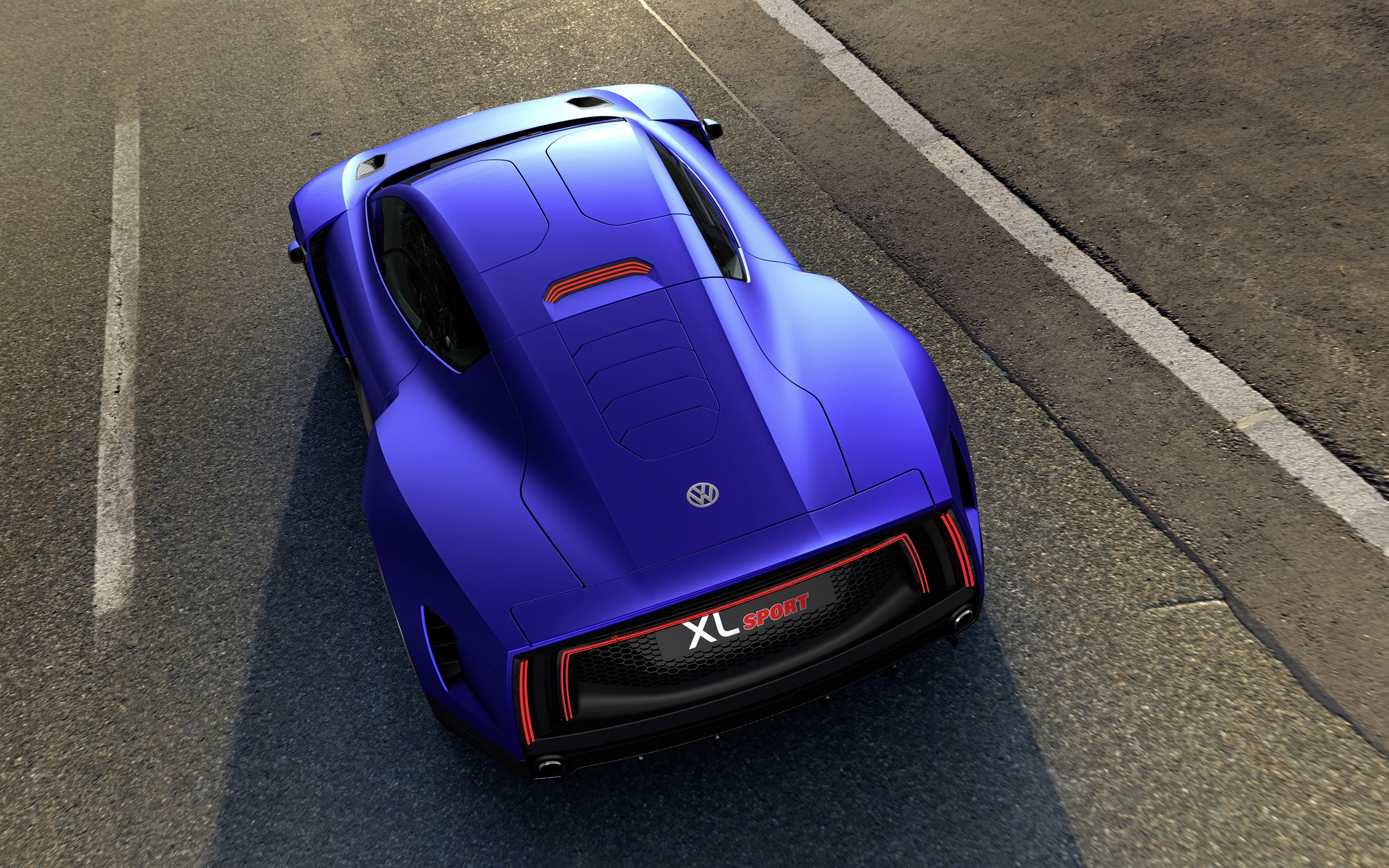 Volkswagen XL Sport Concept Wallpaper HD Car Wallpapers