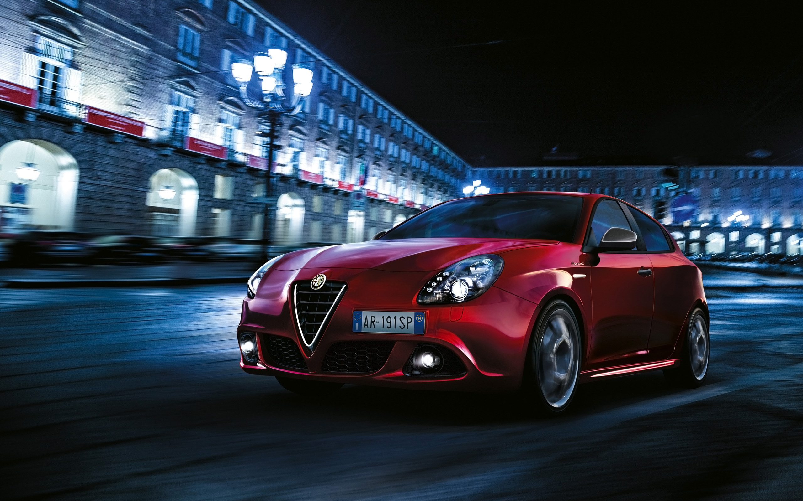 2015 Alfa Romeo Giulietta Sprint Wallpaper Hd Car
