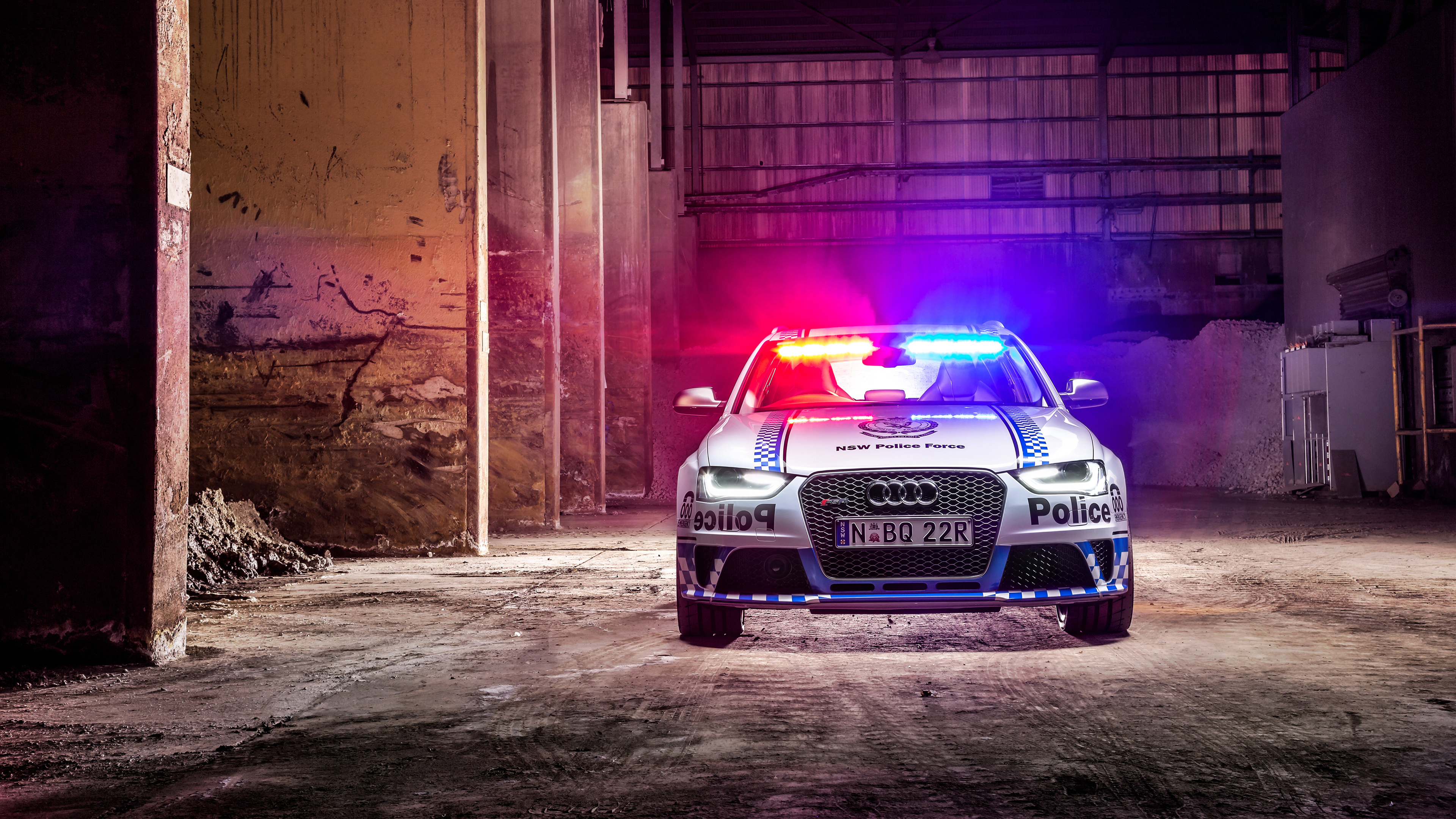 2015 Audi Rs4 Avant Police Wallpaper Hd Car Wallpapers