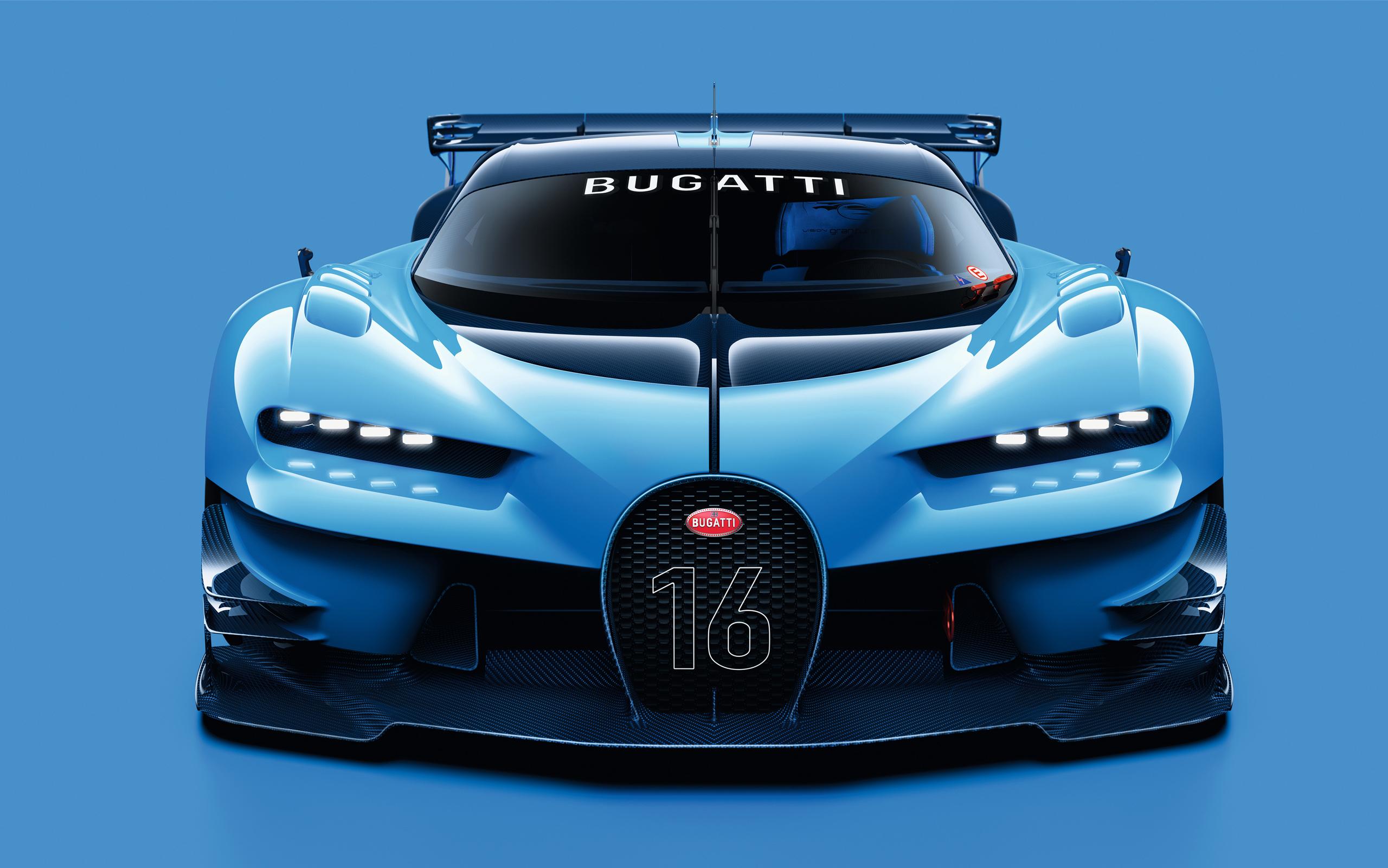 Bugatti vision gt wallpaper